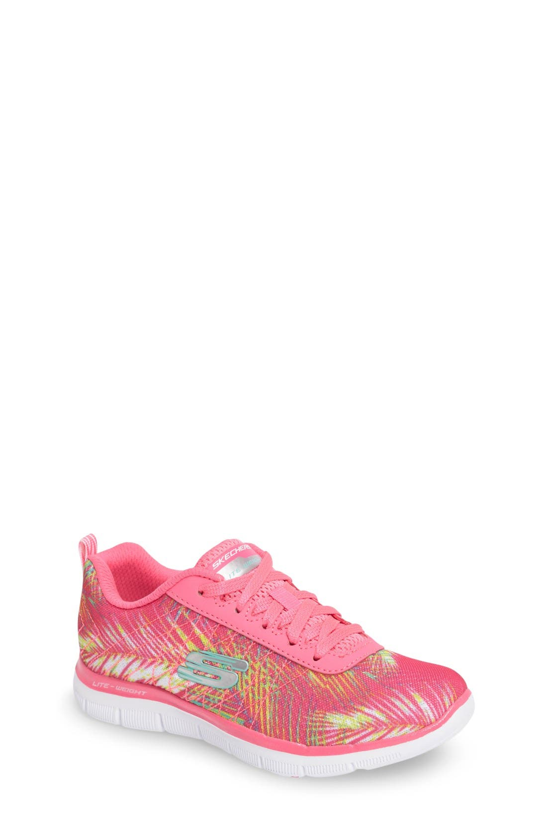 SKECHERS Skech Appeal 2.0 Tropical Breeze Sneaker (Toddler, Little Kid & Big Kid)