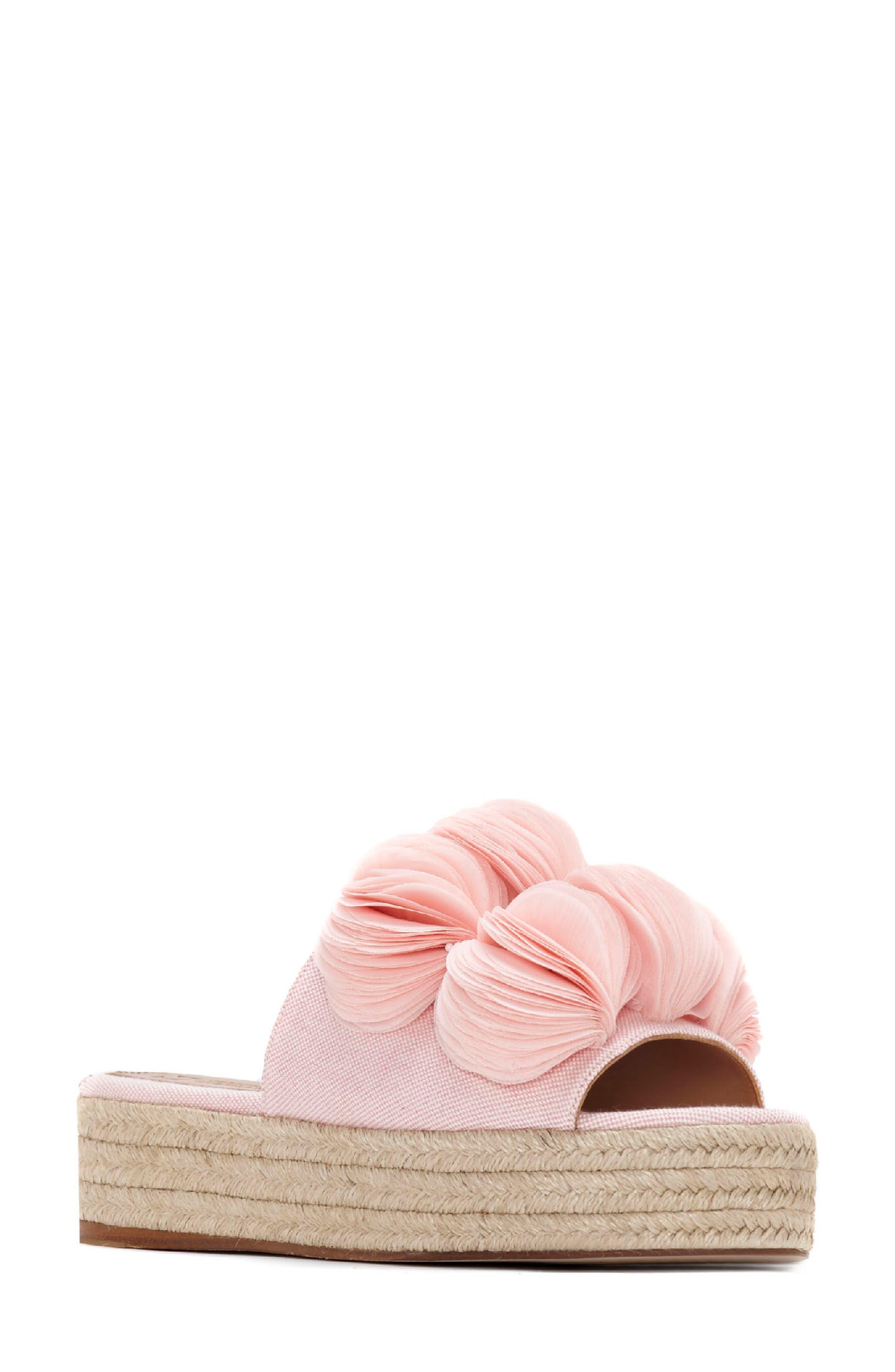 Alternate Image 1 Selected - Mercedes Castillo Espadrille Platform Sandal (Women)