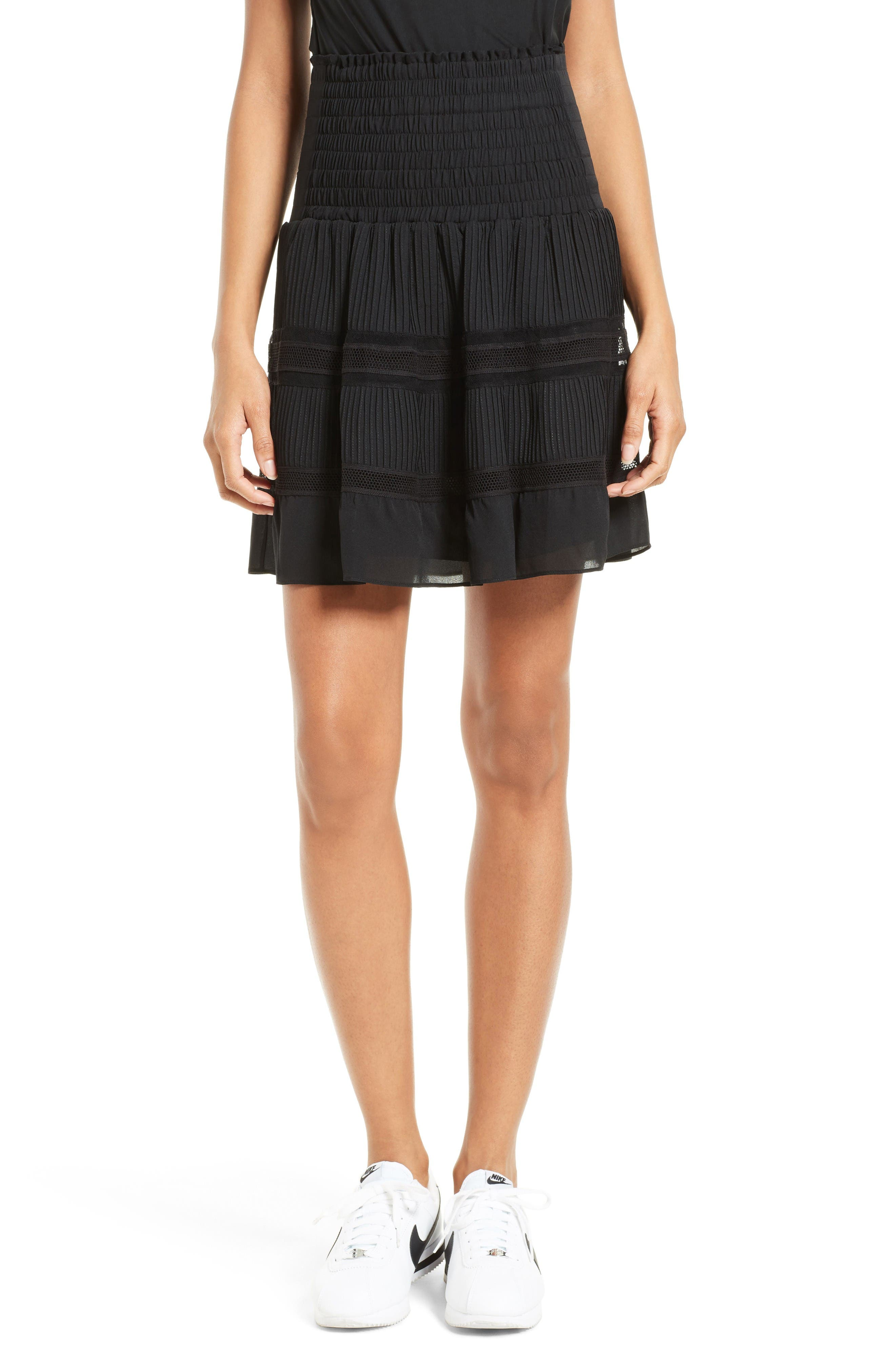A.L.C. Misha Silk Skirt