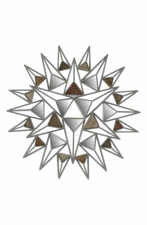 crystal art gallery triangle wall art - Home Decor For Sale