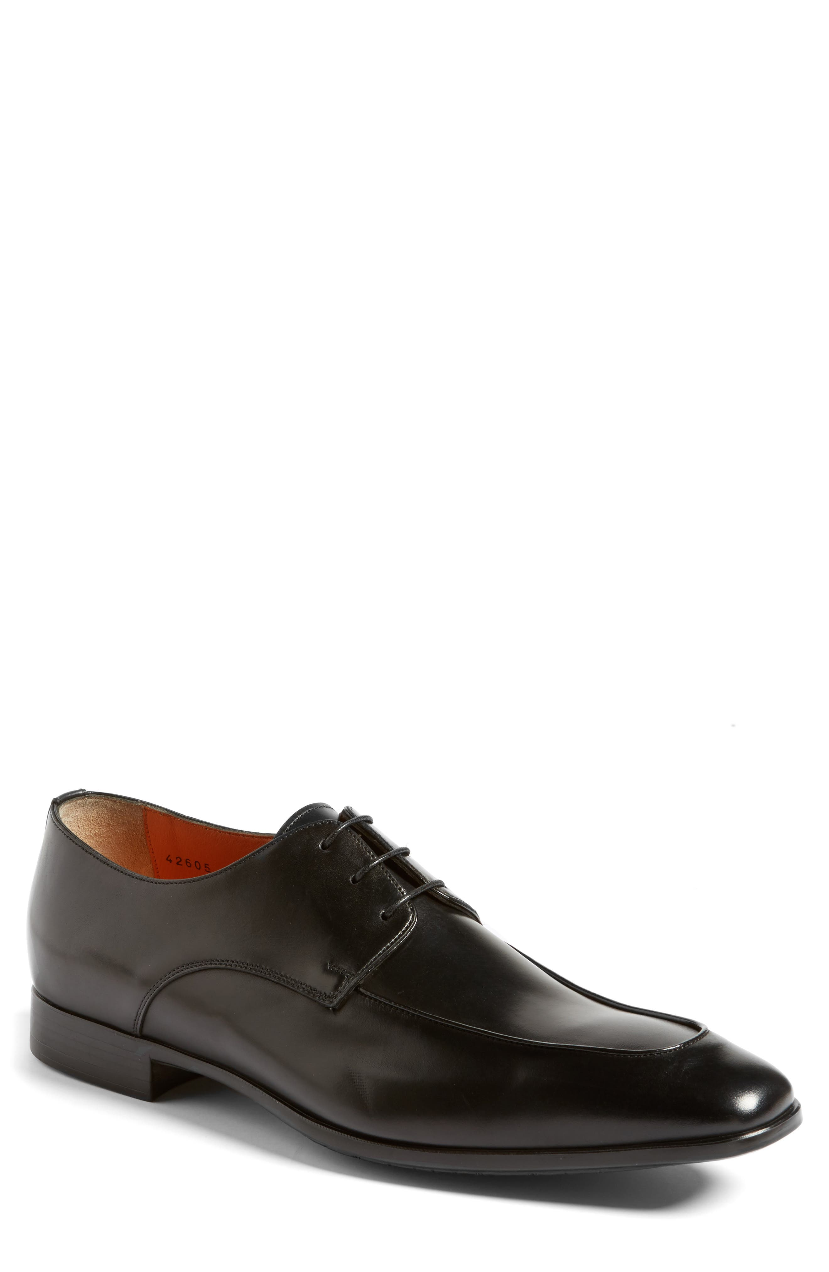 Santoni Falcon Apron Toe Derby (Men)
