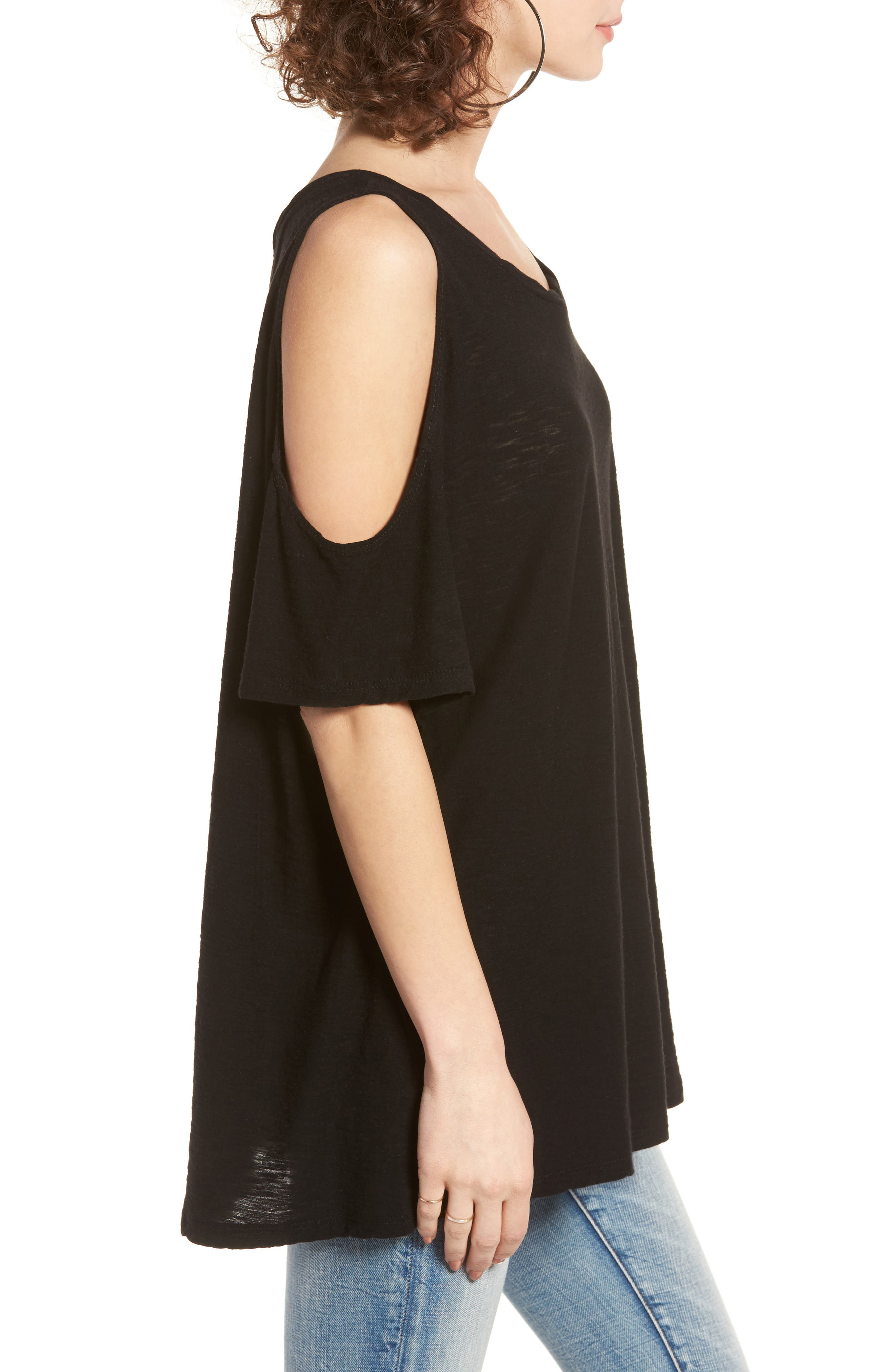 Alternate Image 3  - Michelle by Comune Frisco Cold Shoulder Tee