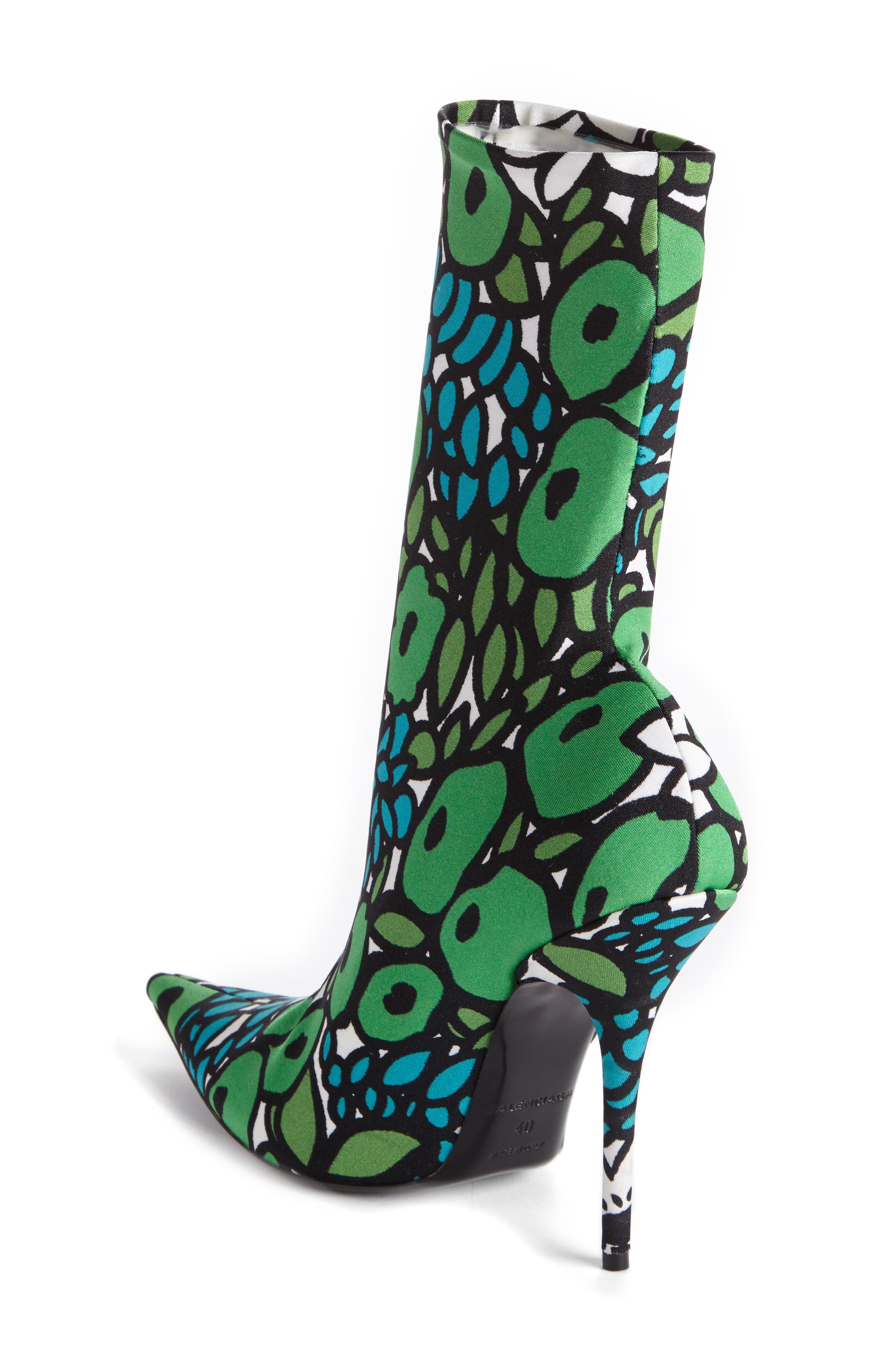 Alternate Image 2  - Balenciaga Pointy Toe Mid Boot (Women)