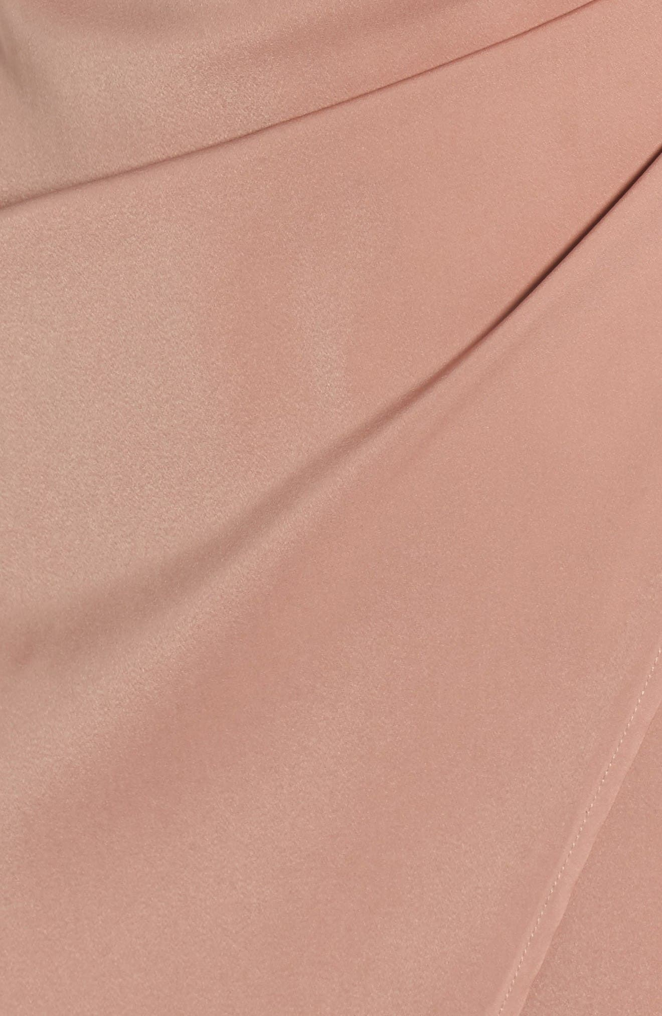 Alternate Image 5  - Leith Satin Wrap Dress