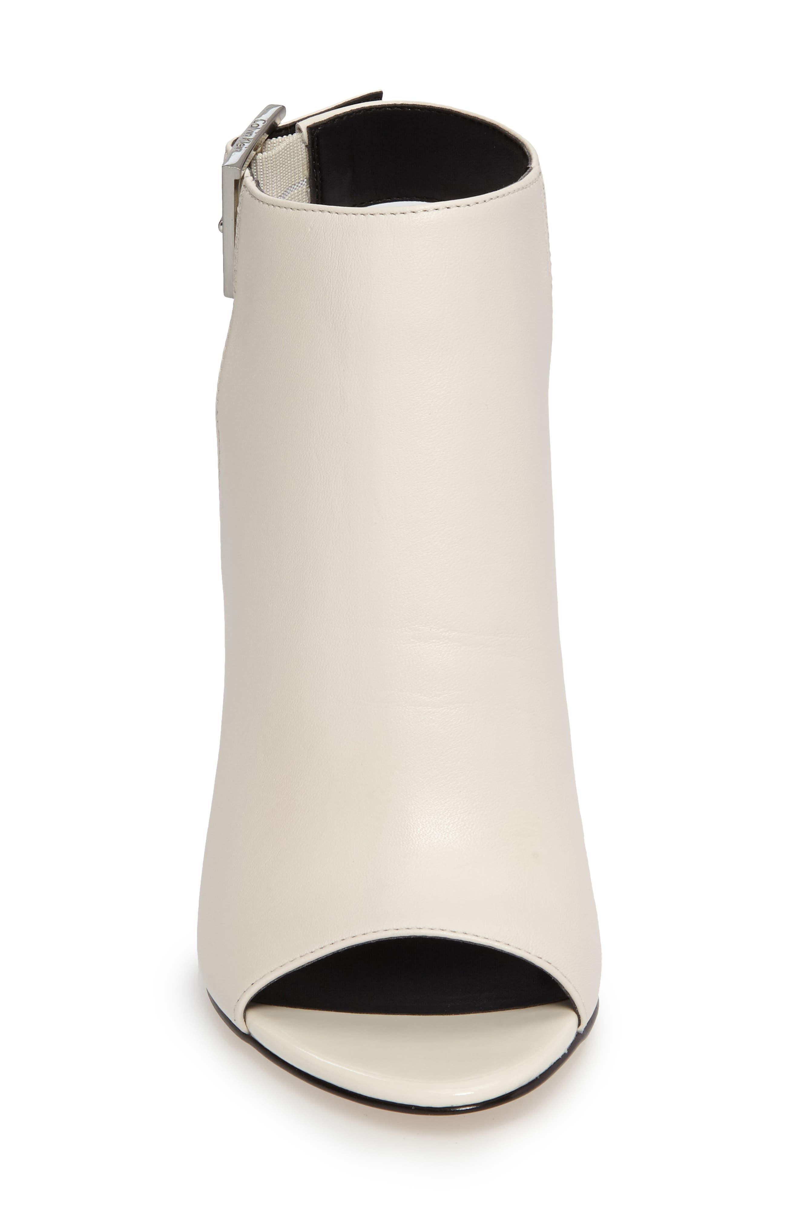 Alternate Image 3  - Calvin Klein Norah Metallic Heel Sandal (Women)