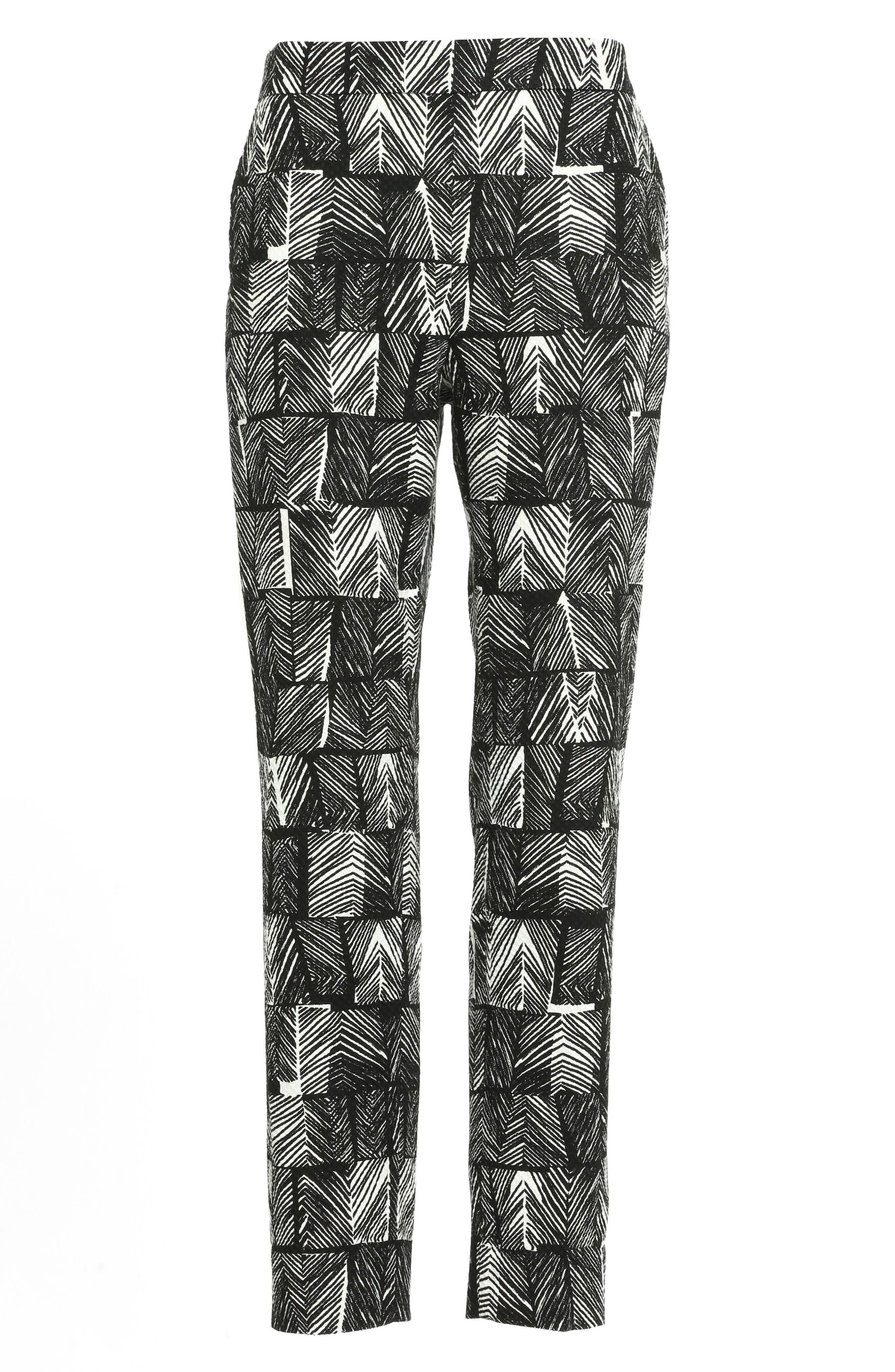 Alternate Image 4  - Max Mara Paggio Graphic Print Crop Pants