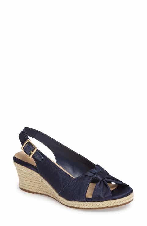 Women S Blue Espadrille Sandals Nordstrom
