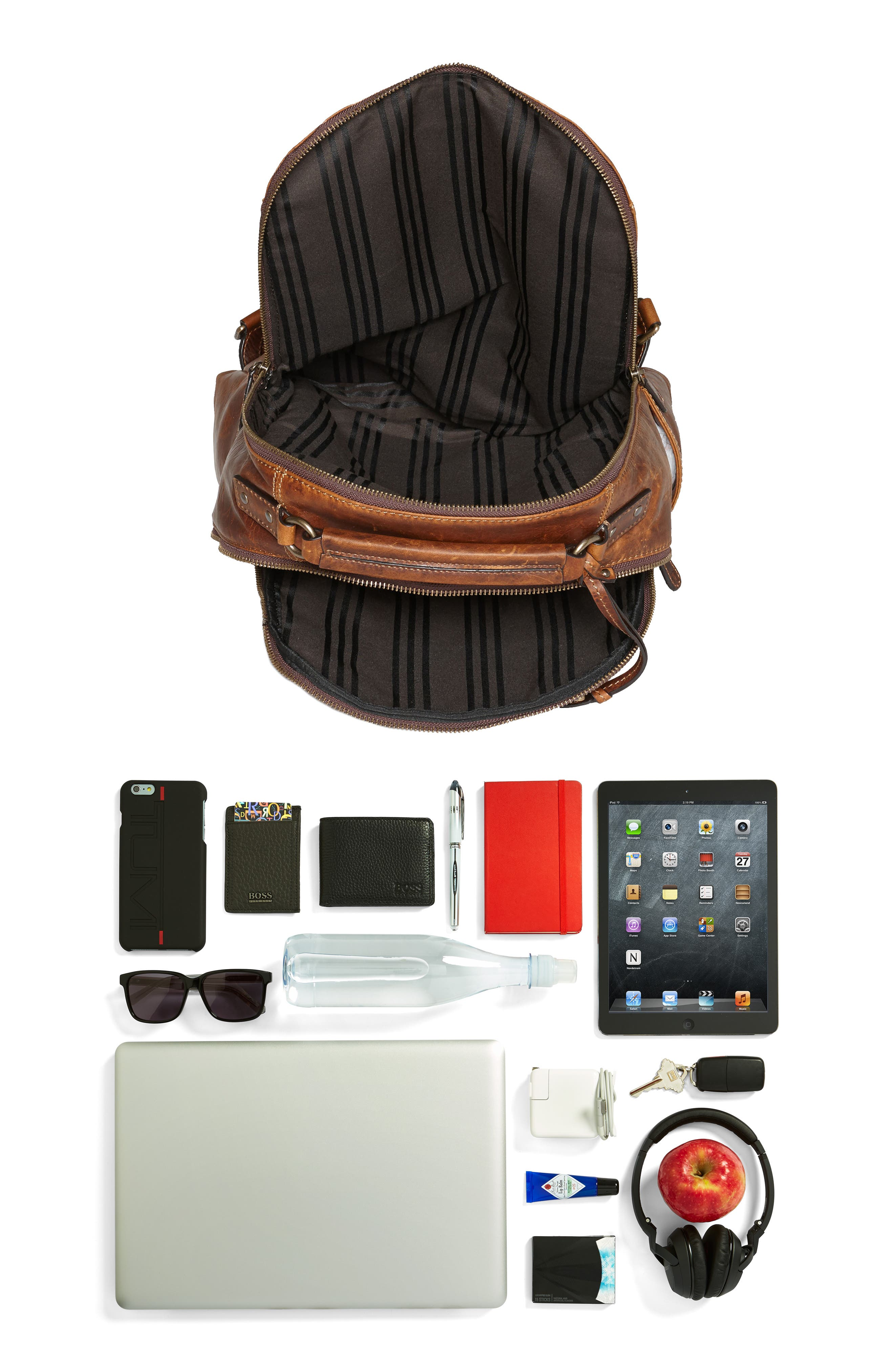 Alternate Image 8  - Frye 'Logan' Leather Backpack