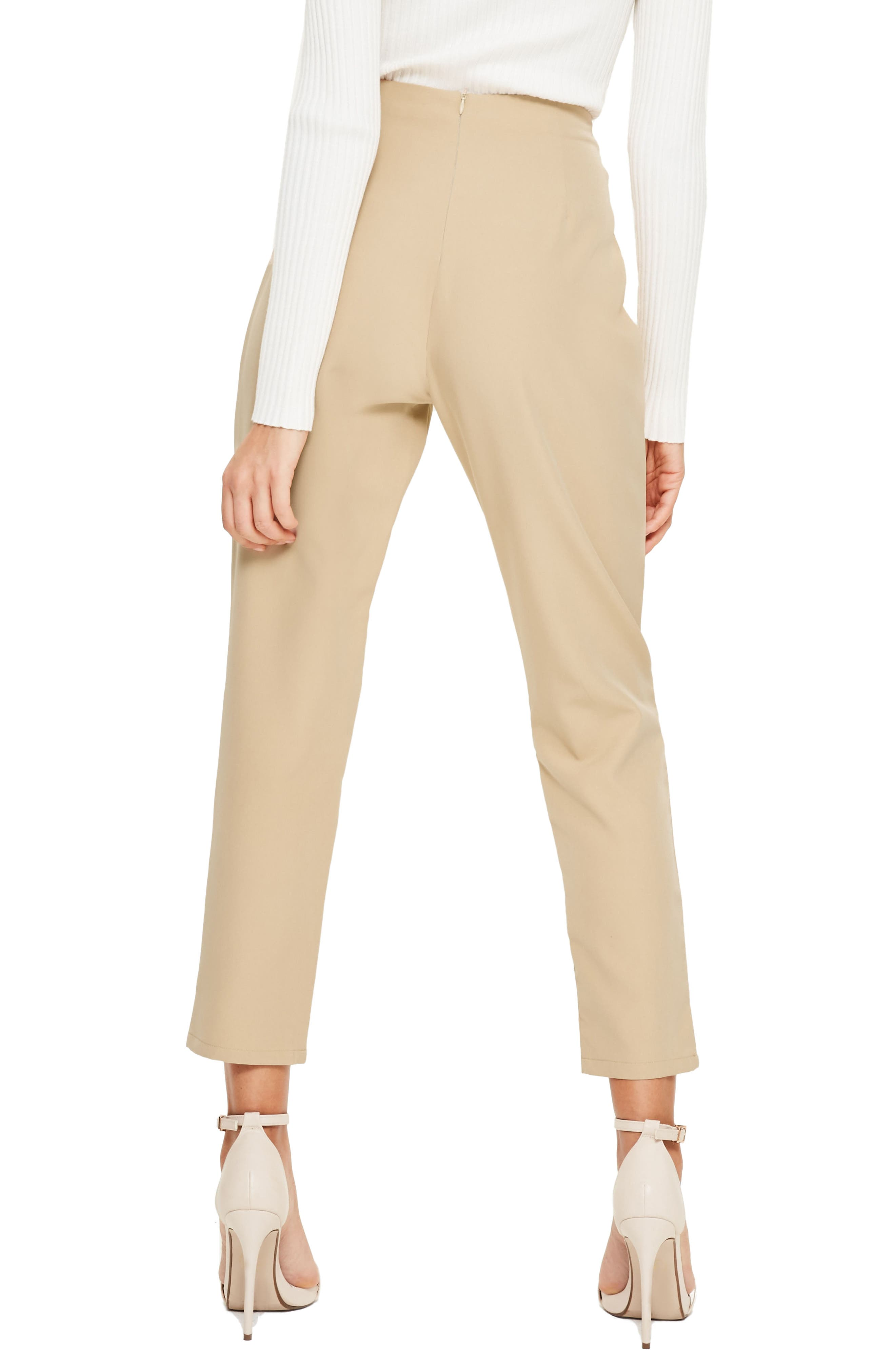 Alternate Image 2  - Missguided Cigarette Trousers