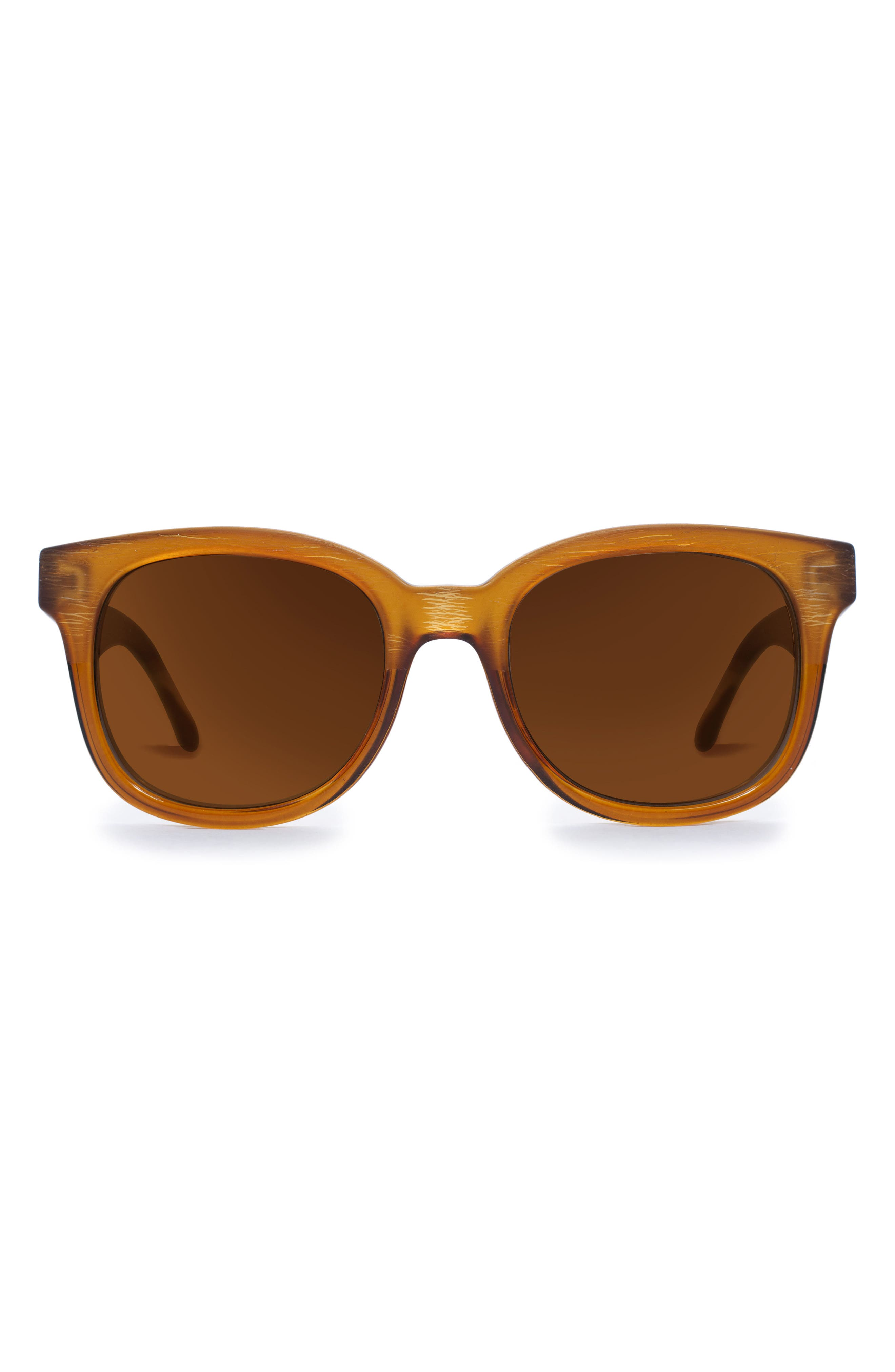 GLASSING New Age 53mm Retro Sunglasses