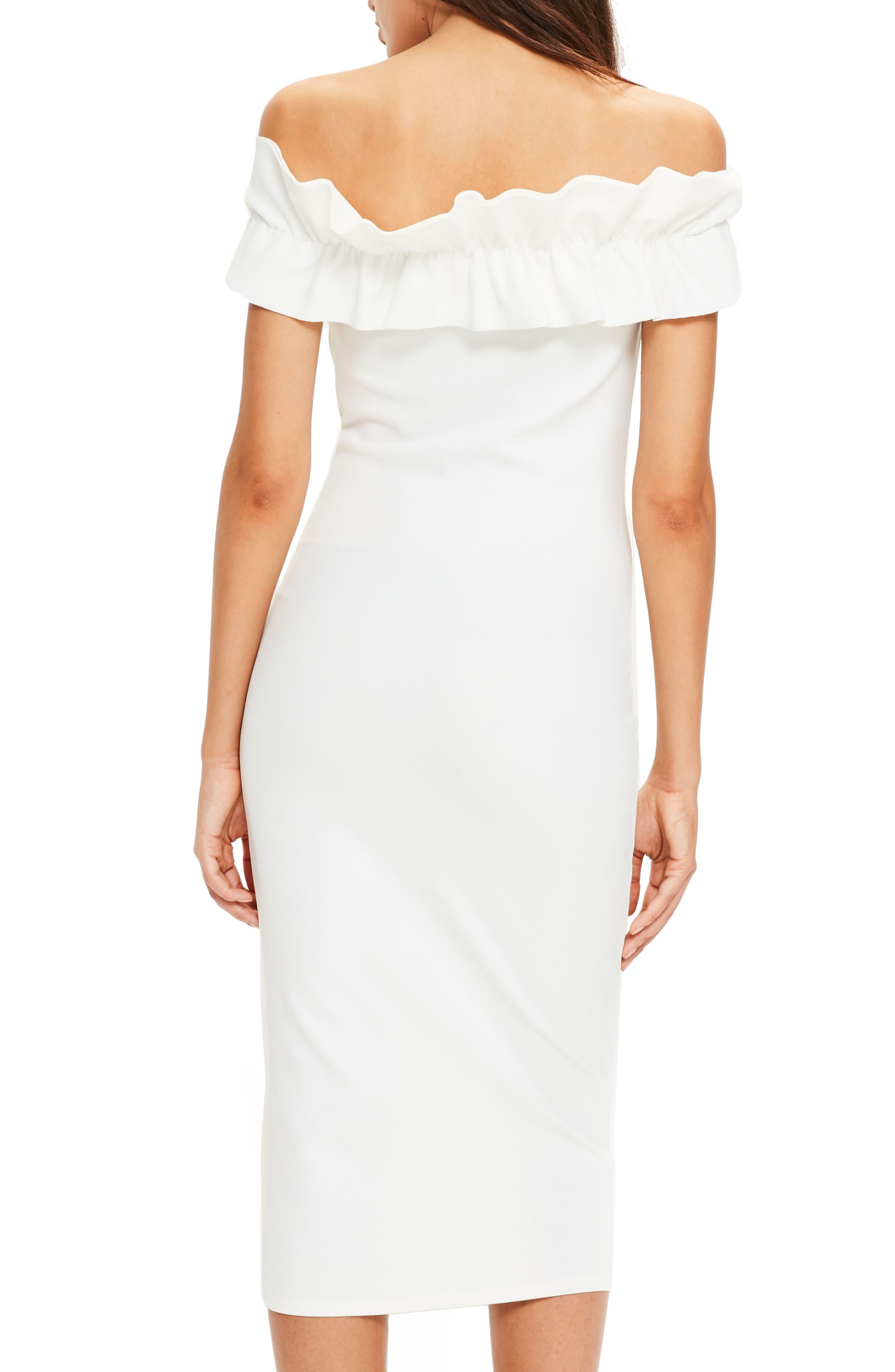 Alternate Image 3  - Missguided Bardot Off the Shoulder Dress
