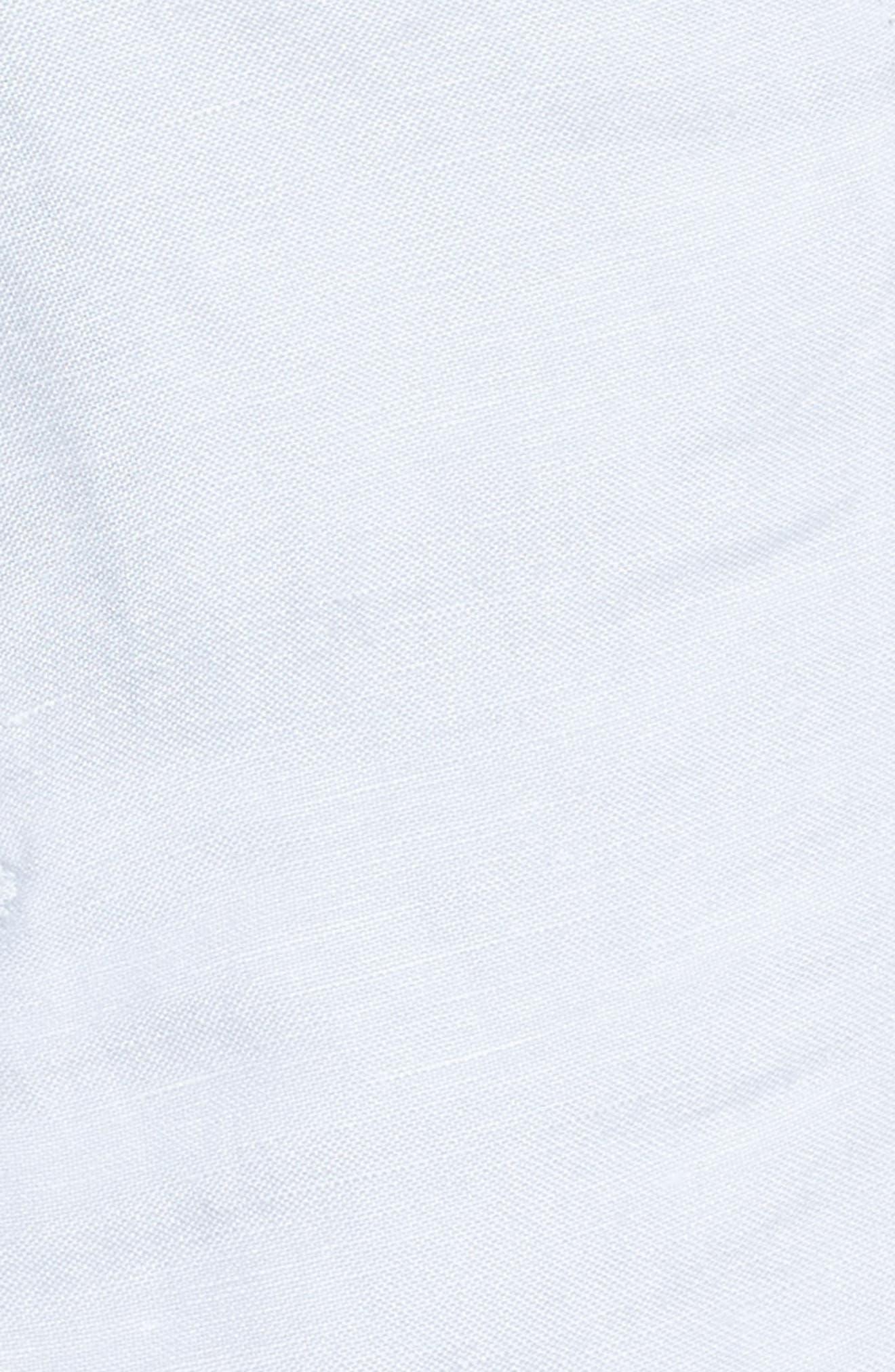 Alternate Image 5  - NIC+ZOE Linen Blend Biker Jacket (Regular & Petite)