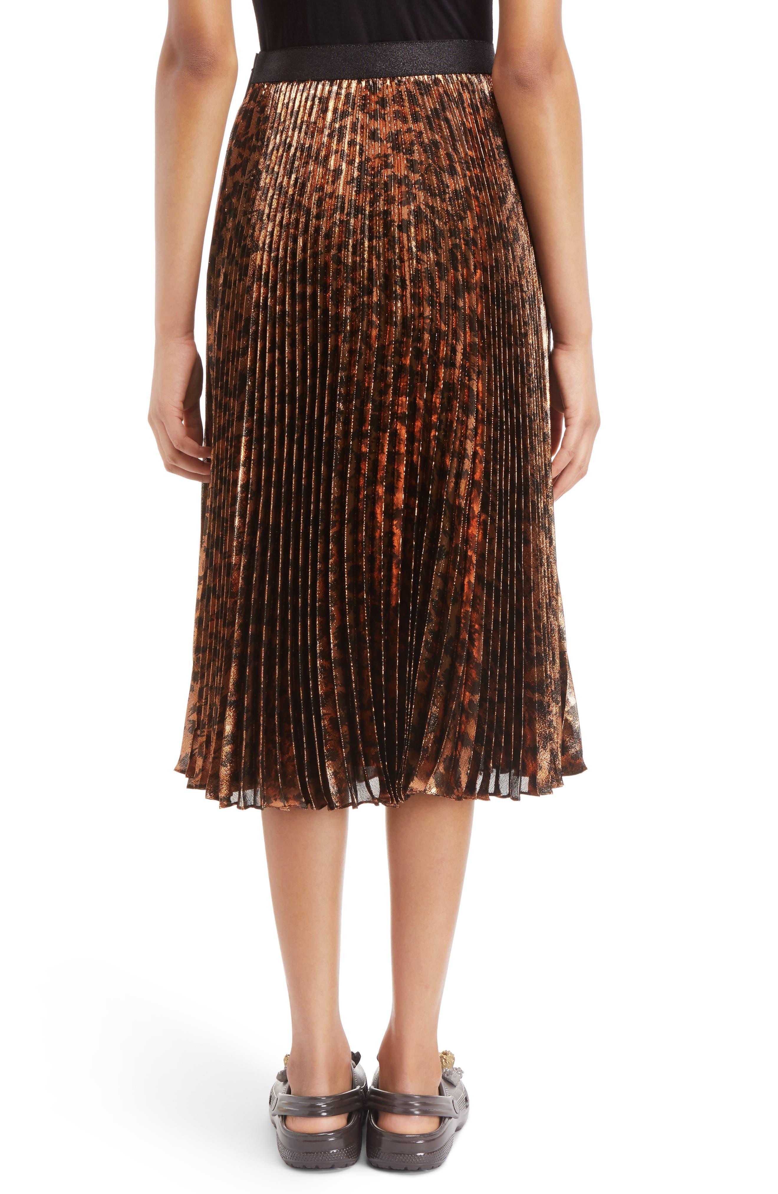 Alternate Image 2  - Christopher Kane Sunray Skirt