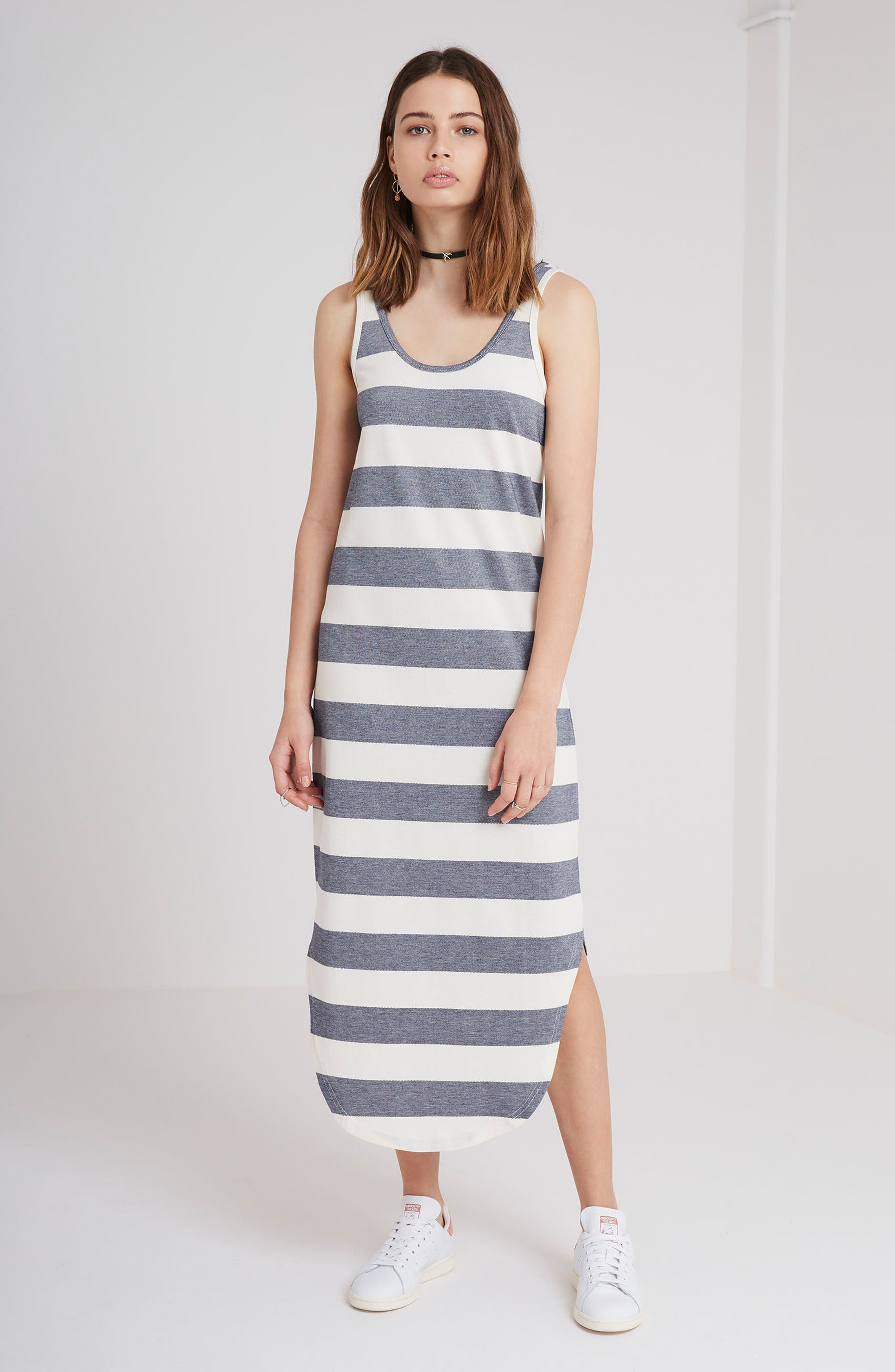 Alternate Image 2  - The Fifth Label Chelsea Stripe Midi Dress