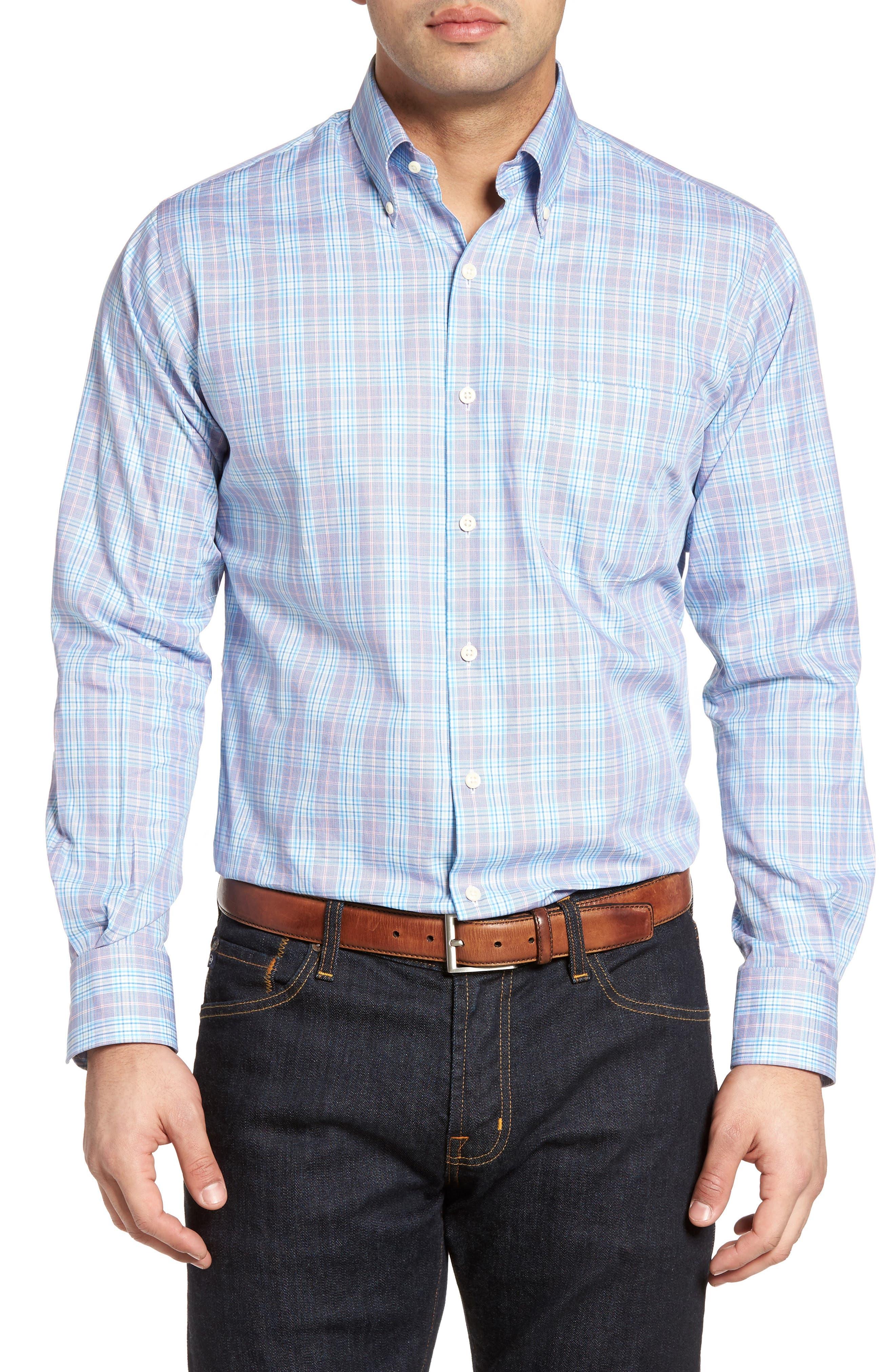 PETER MILLAR Terrace Check Sport Shirt