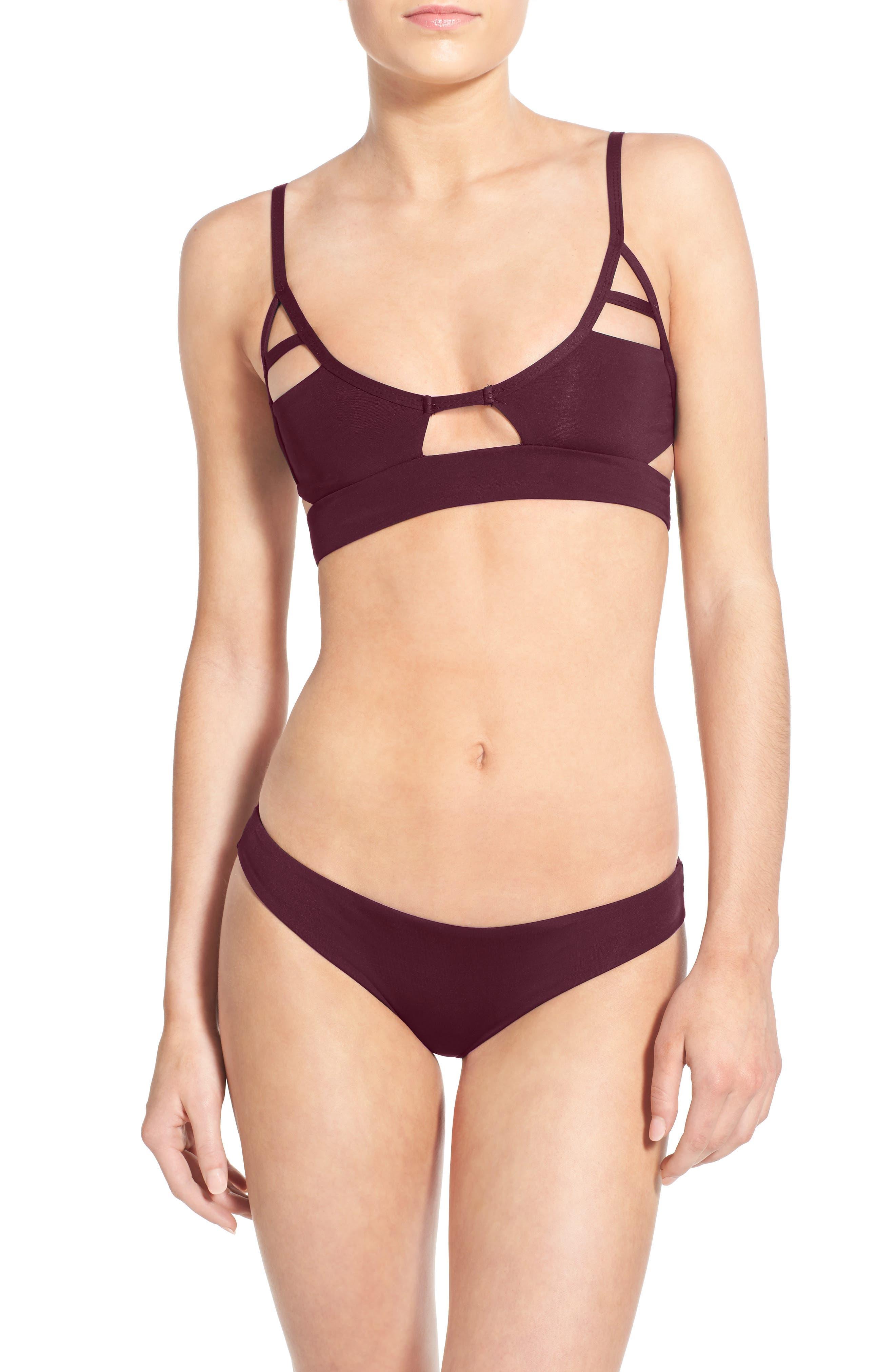 TAVIK 'Jessi' Cutout Triangle Bikini Top