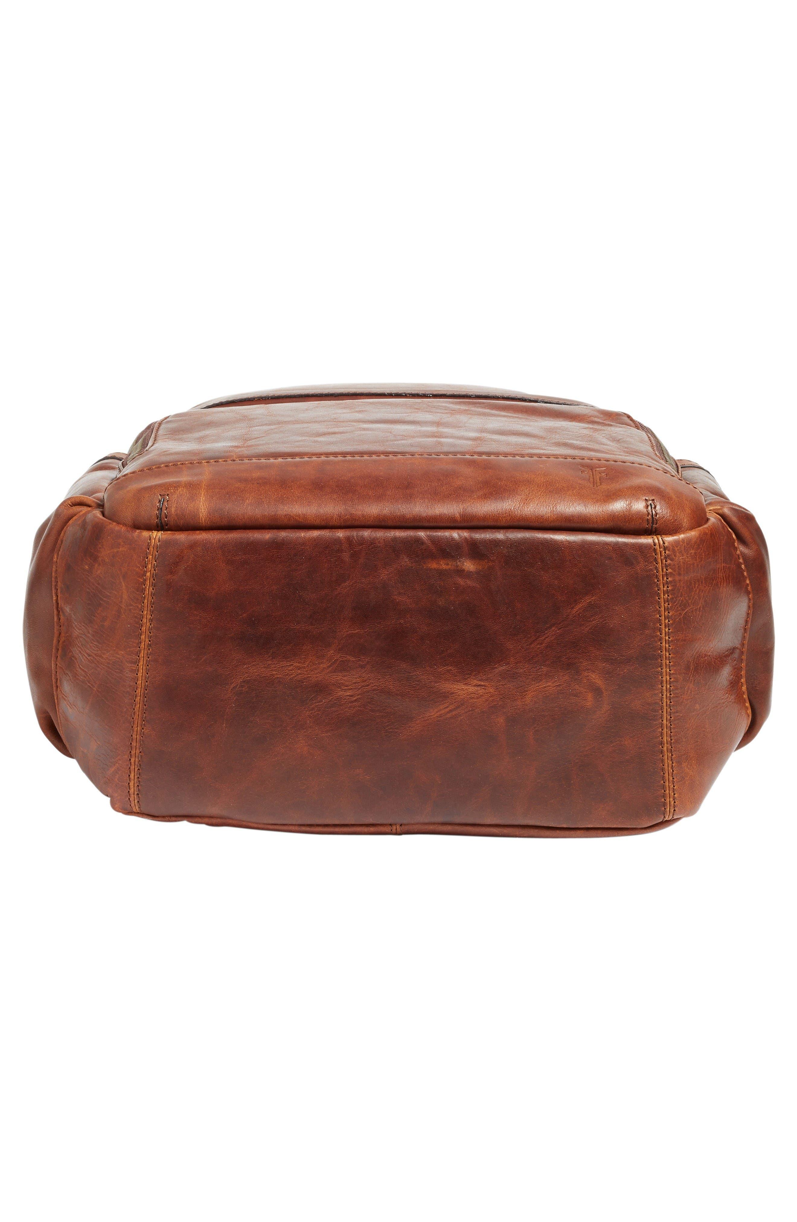 Alternate Image 7  - Frye 'Logan' Leather Backpack