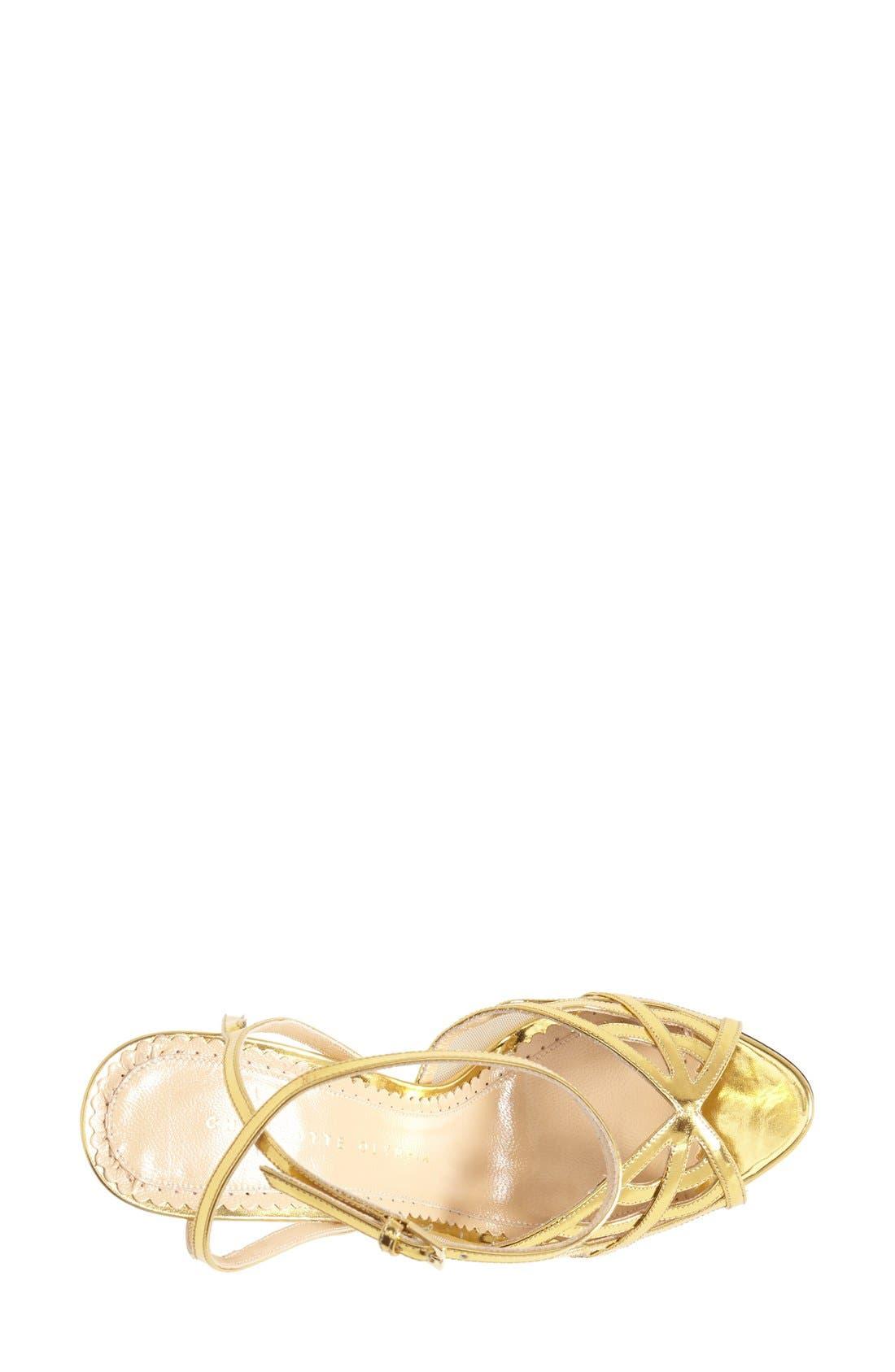 Alternate Image 3  - Charlotte Olympia 'Octavia' Platform Sandal (Women)