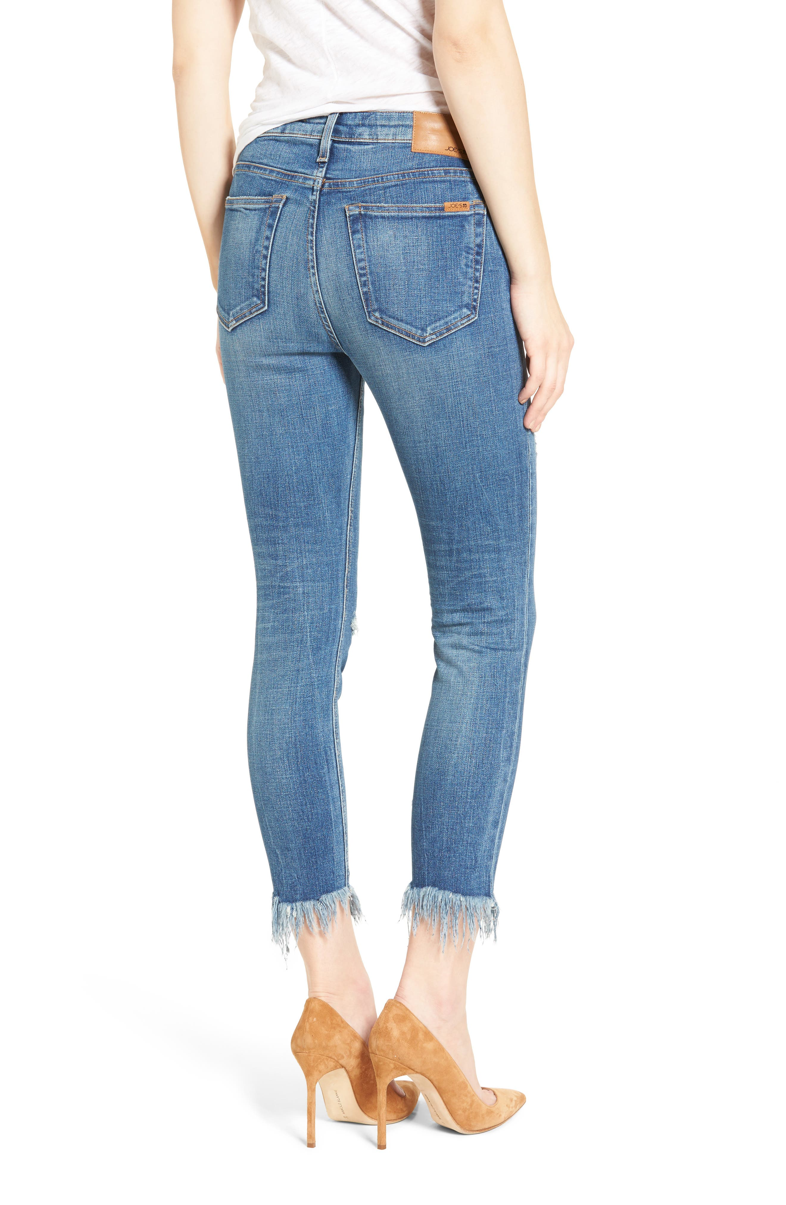 Alternate Image 3  - Joes Charlie High Rise Crop Skinny Jeans (Nala)