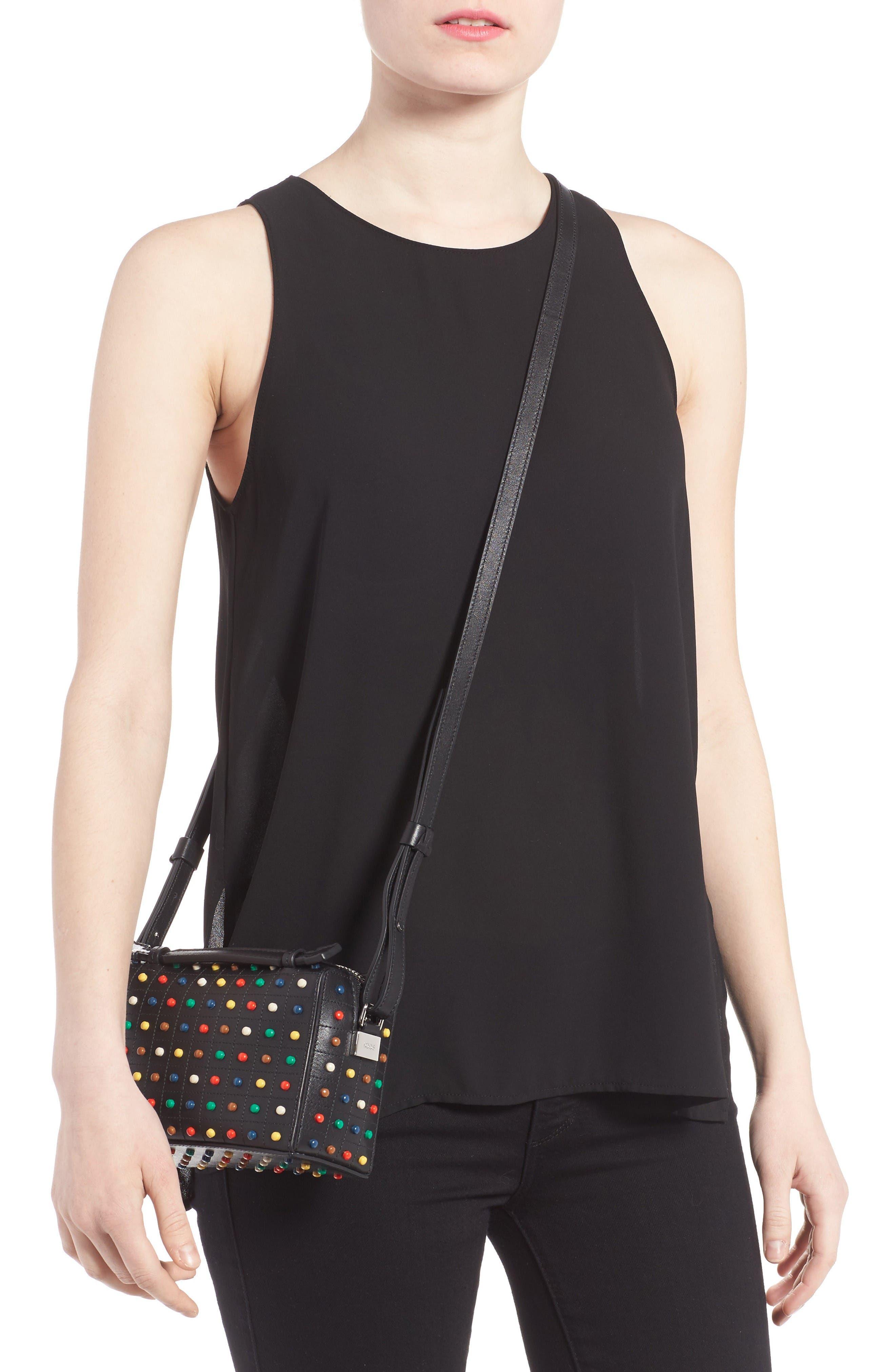 Alternate Image 2  - Tod's Micro Diodon Rainbow Studded Leather Bowler Bag