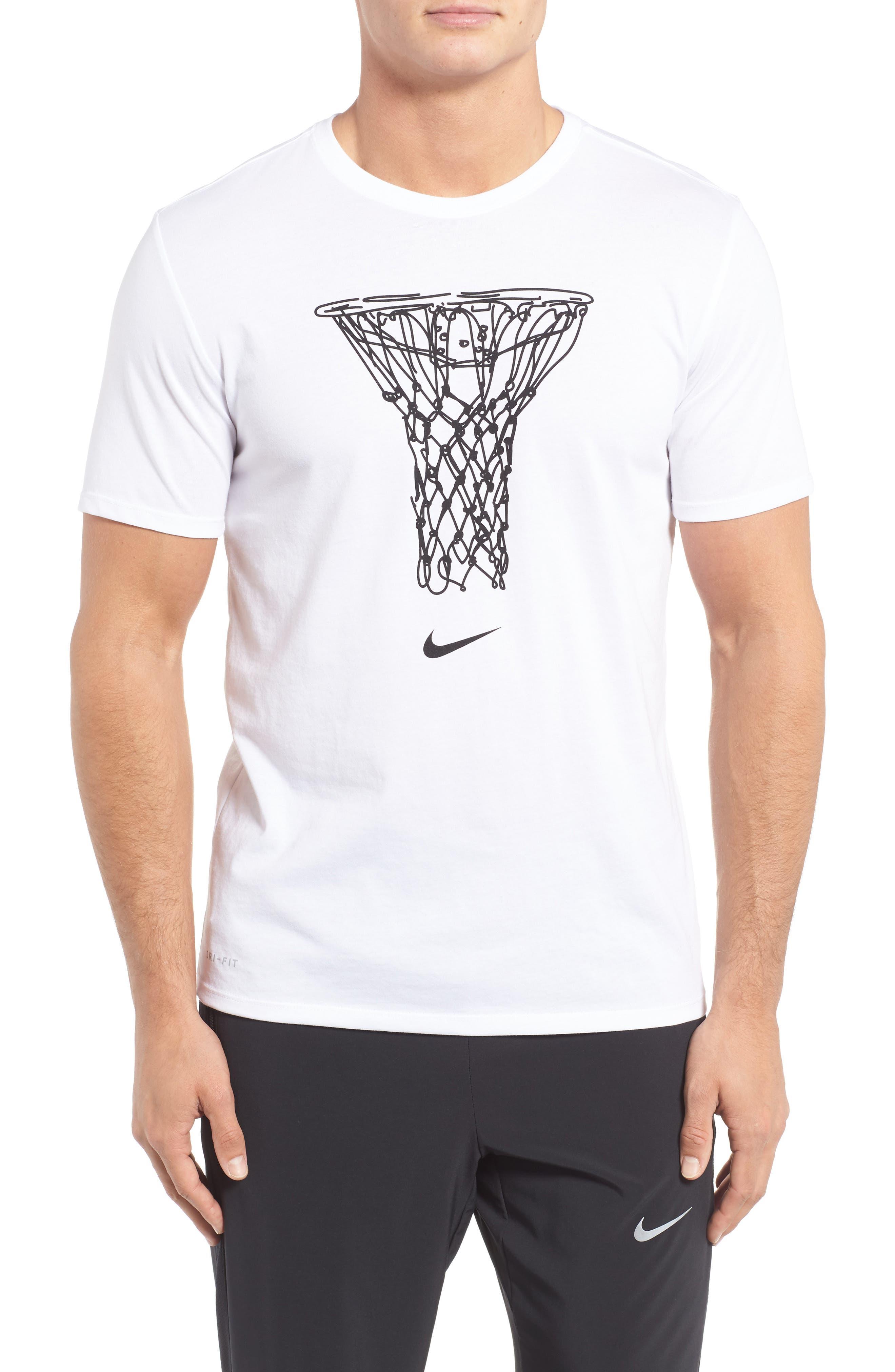 NIKE Dry Basketball Graphic T-Shirt