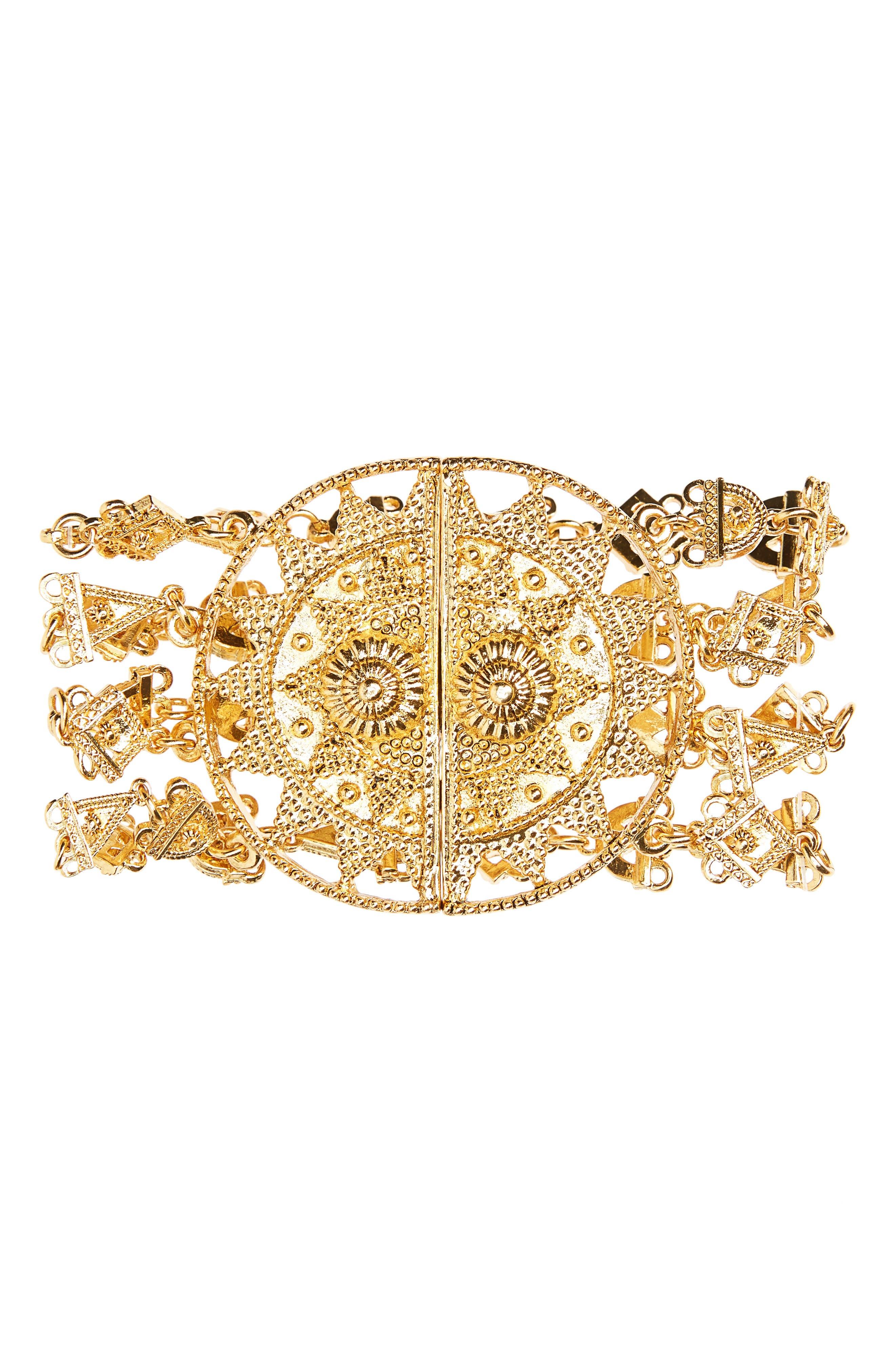 Main Image - Oscar de la Renta Charm Bracelet
