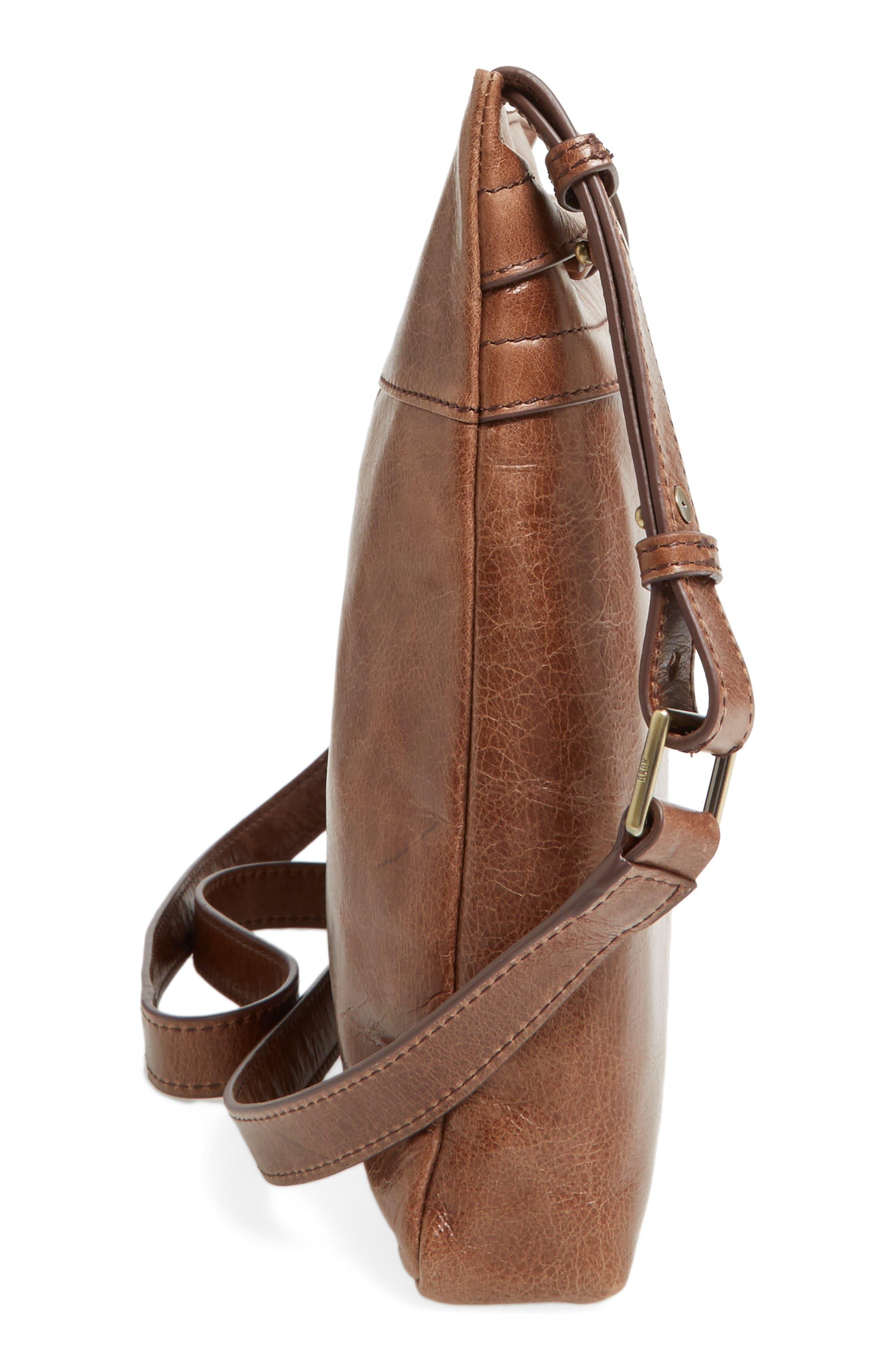 Alternate Image 4  - Hobo Larkin Leather Messenger Bag