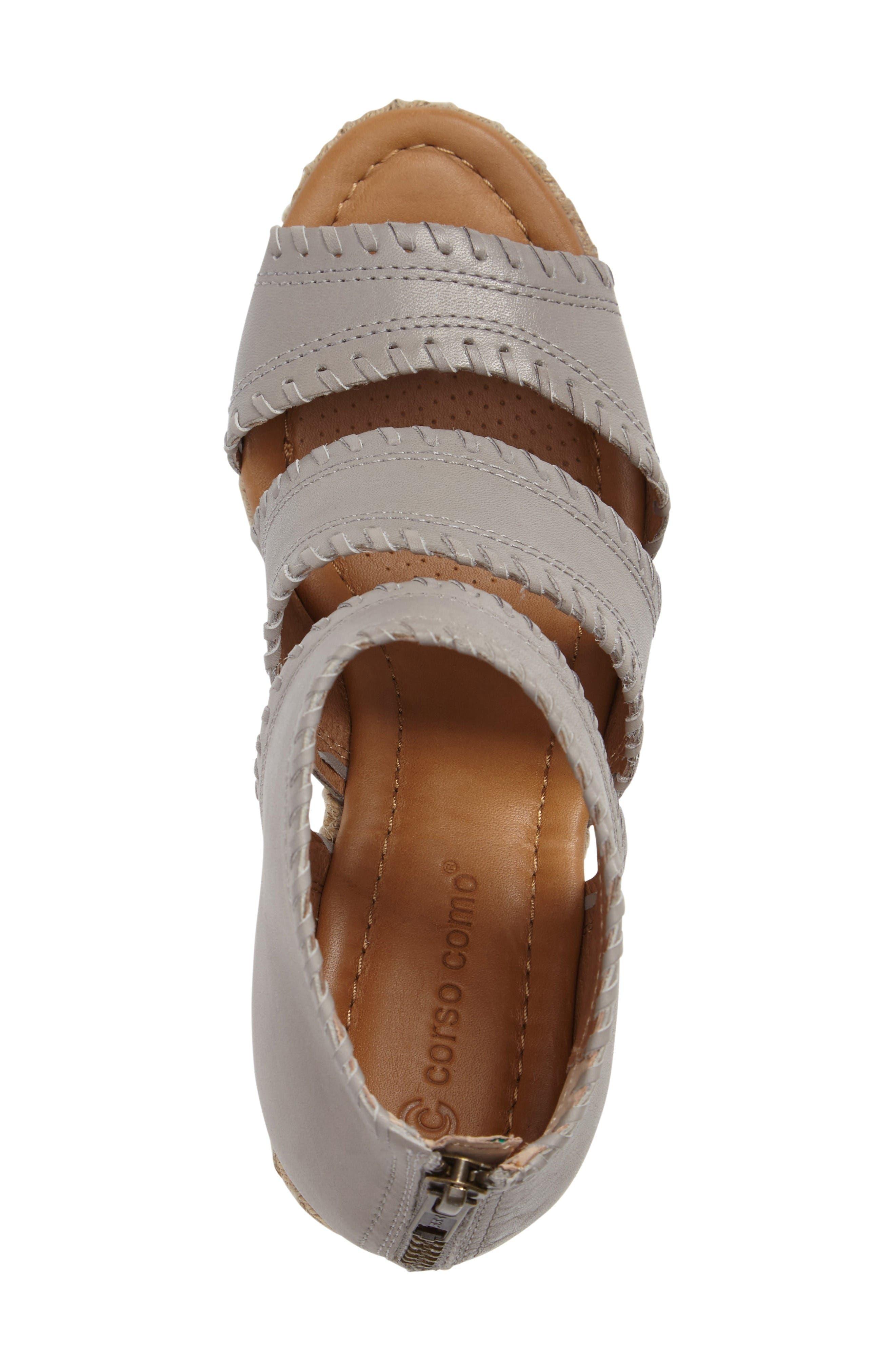 Alternate Image 3  - Corso Como Joyce Wedge Sandal (Women)