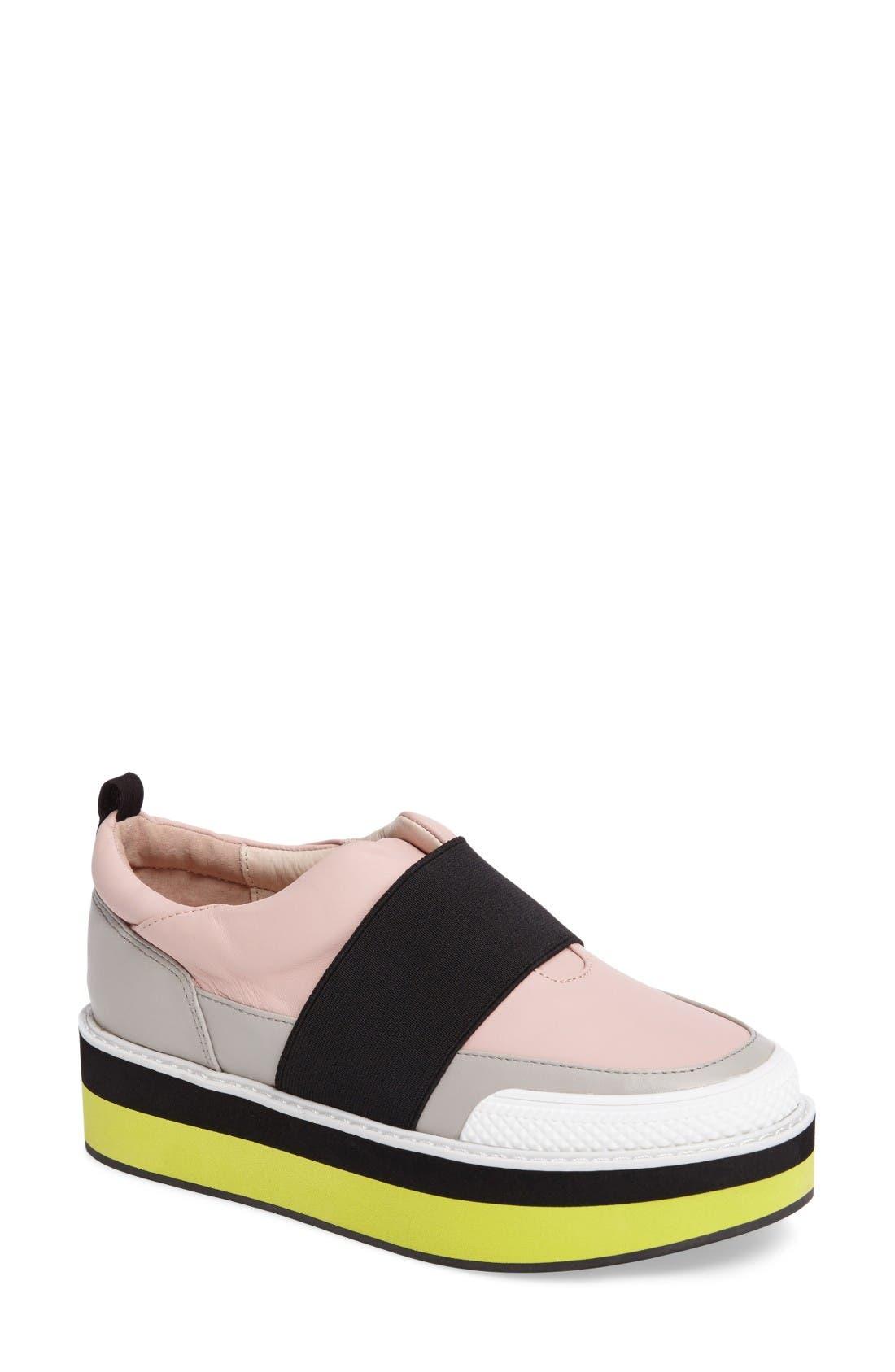 Shellys London Damini Slip-On Platform Sneaker (Women)