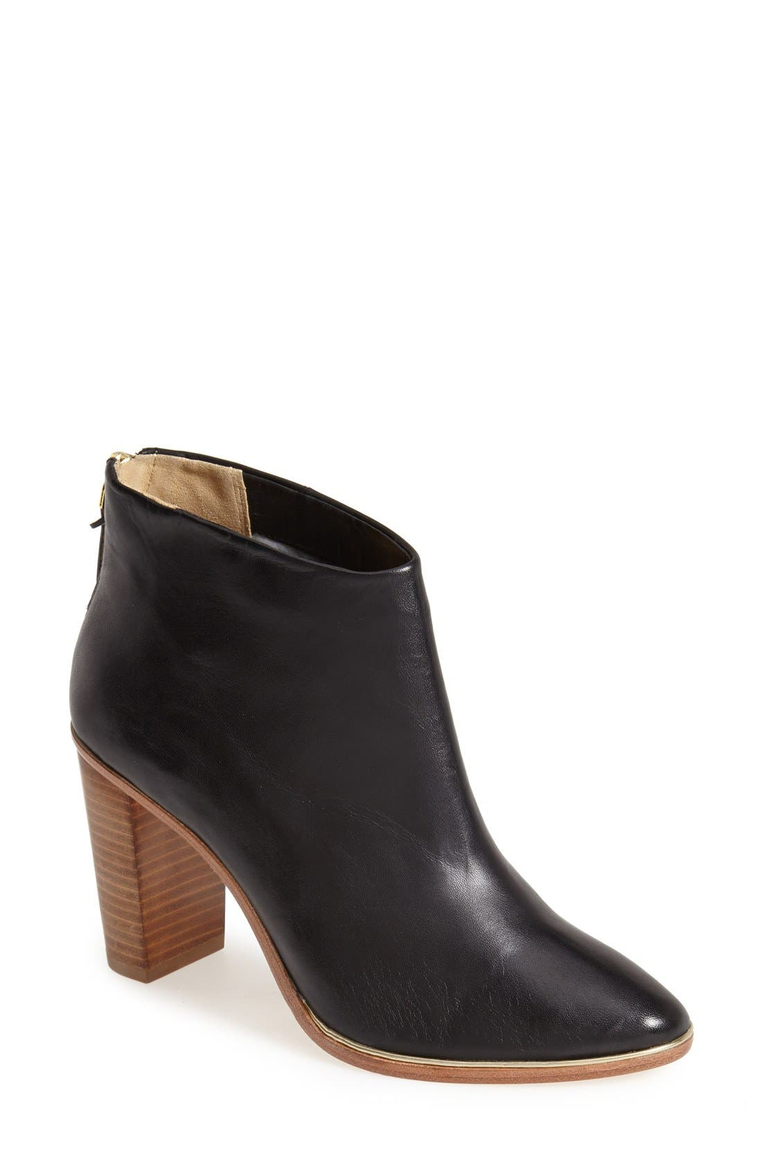 Main Image - Ted Baker London 'Lorca' Leather Bootie (Women)