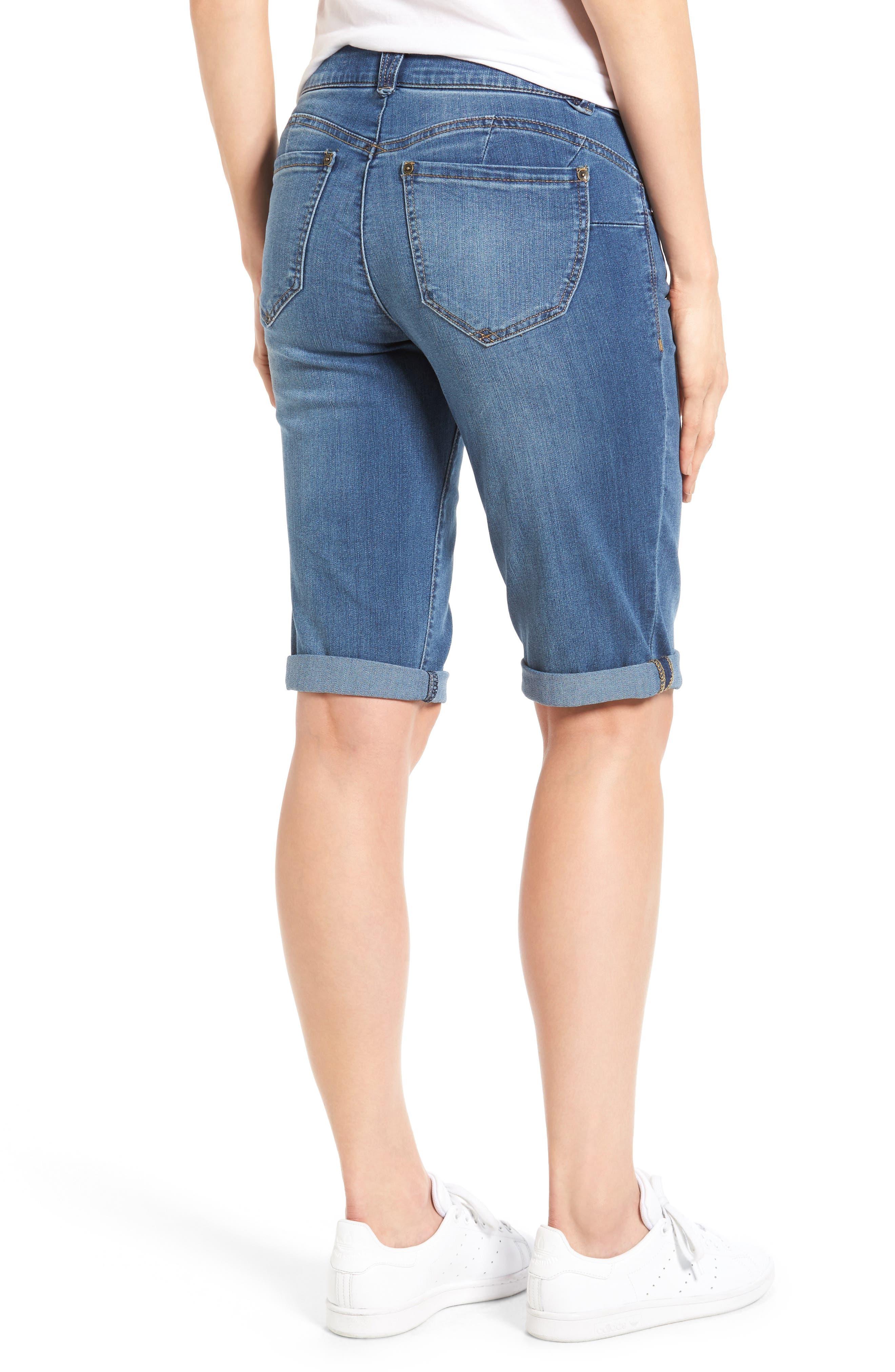Alternate Image 3  - Wit & Wisdom Ab Solution Denim Bermuda Shorts (Nordstrom Exclusive)