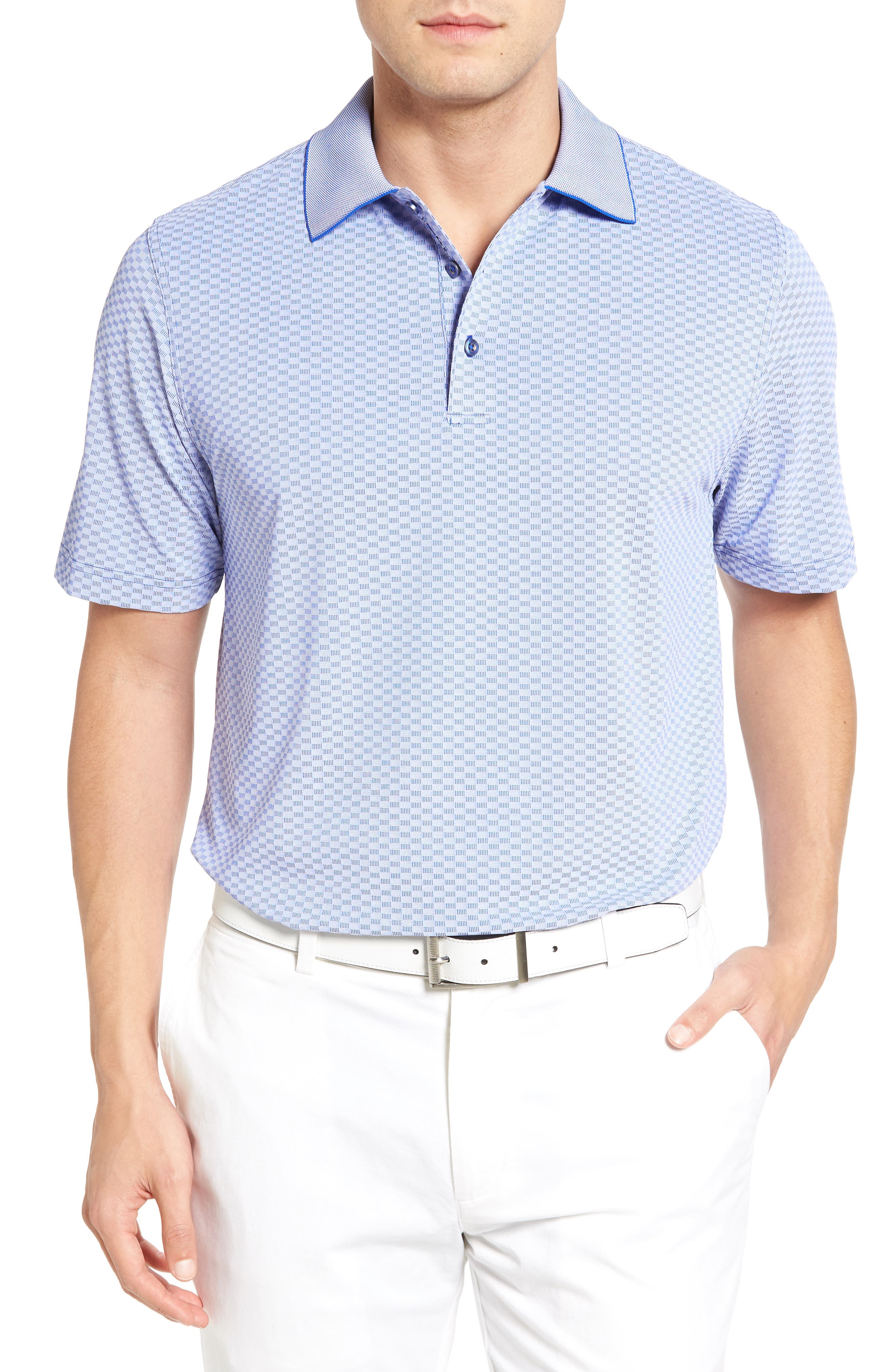 Bobby Jones XH20 Rye Check Stretch Golf Polo