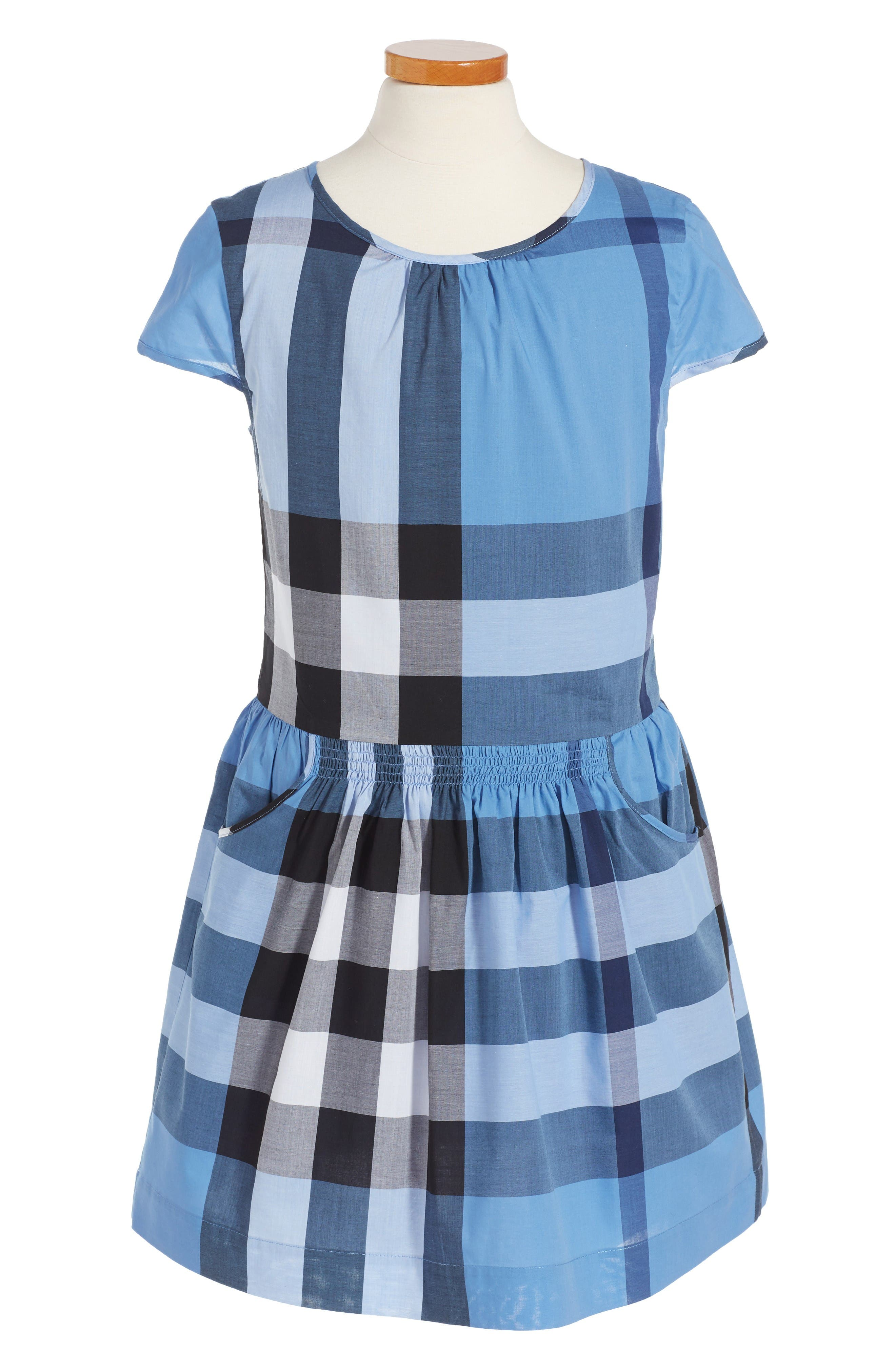 BURBERRY Mini Judie Check Dress