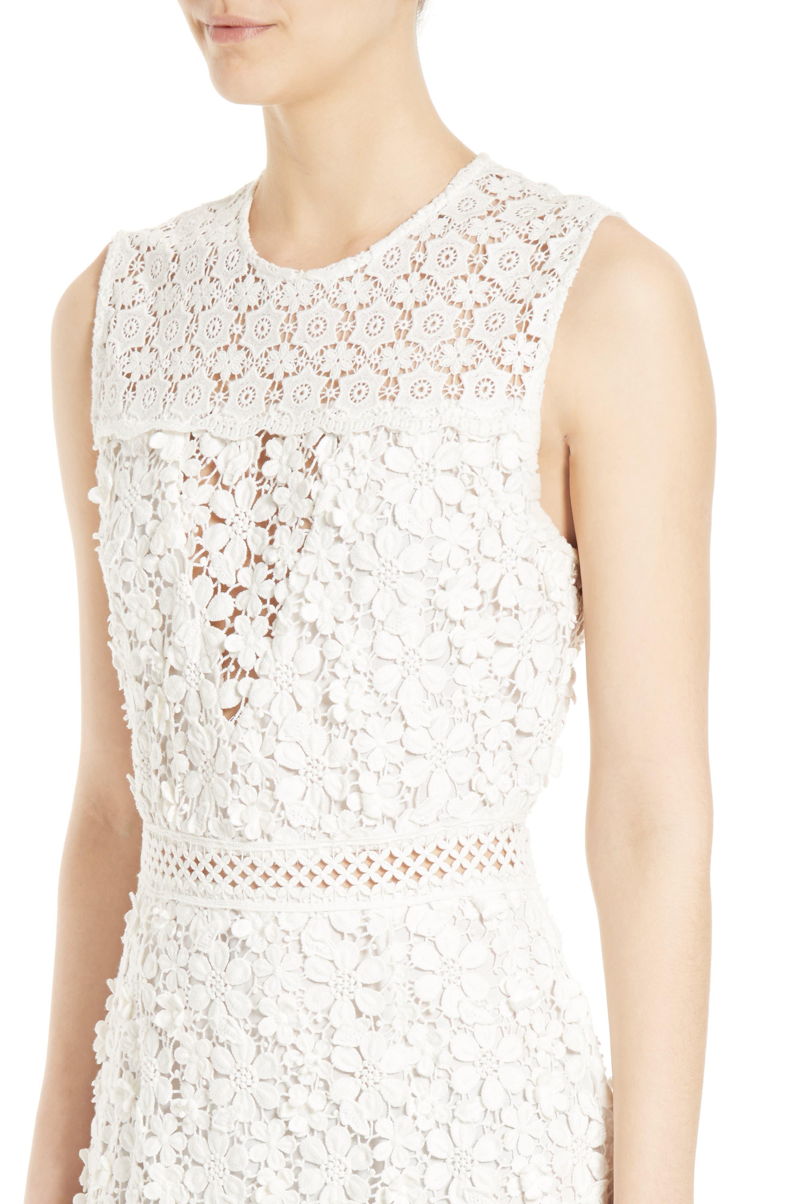 Alternate Image 4  - Sea 3D Crochet Sheath Dress