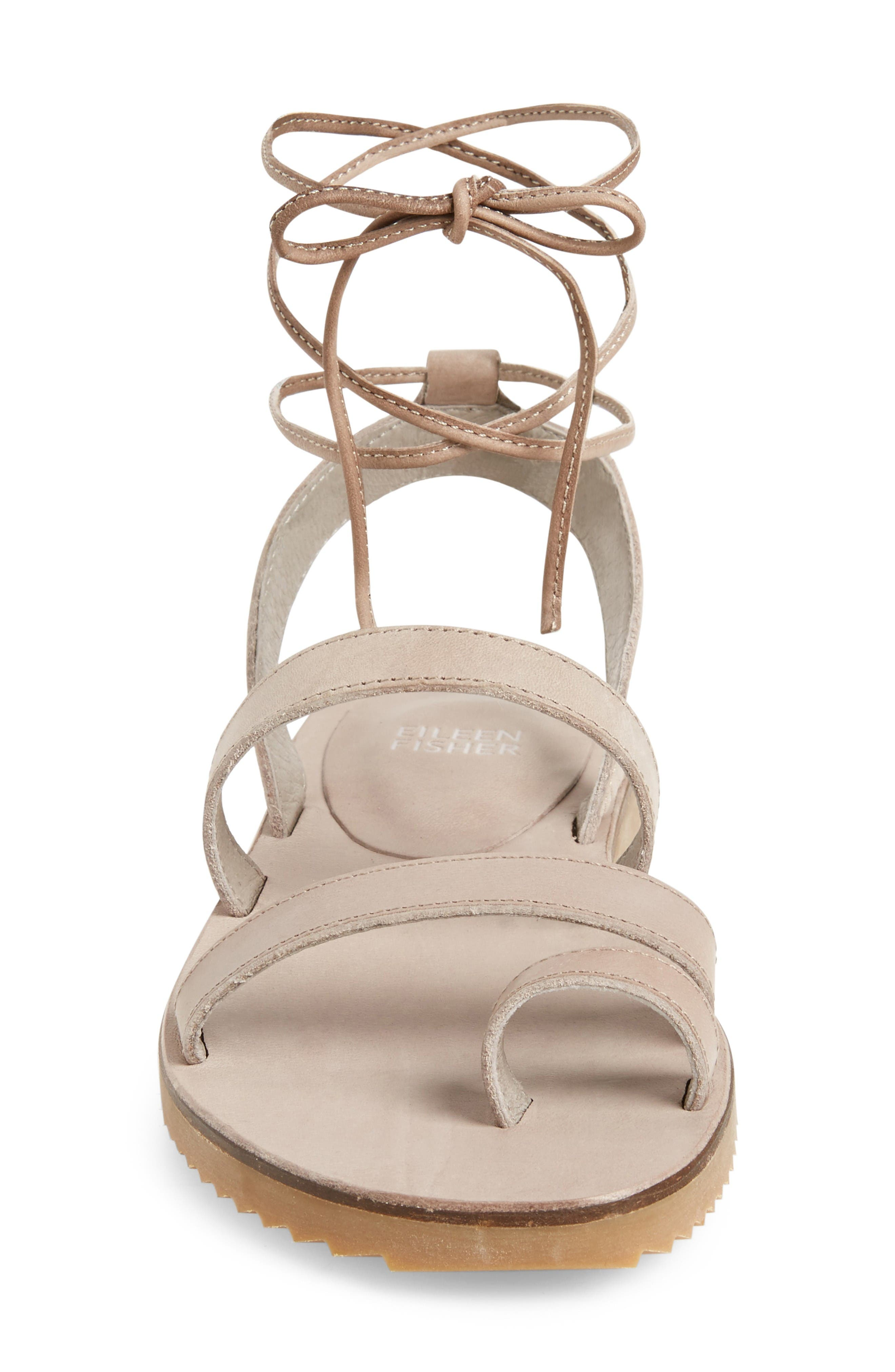Alternate Image 3  - Eileen Fisher Wales Lace-Up Sandal (Women)