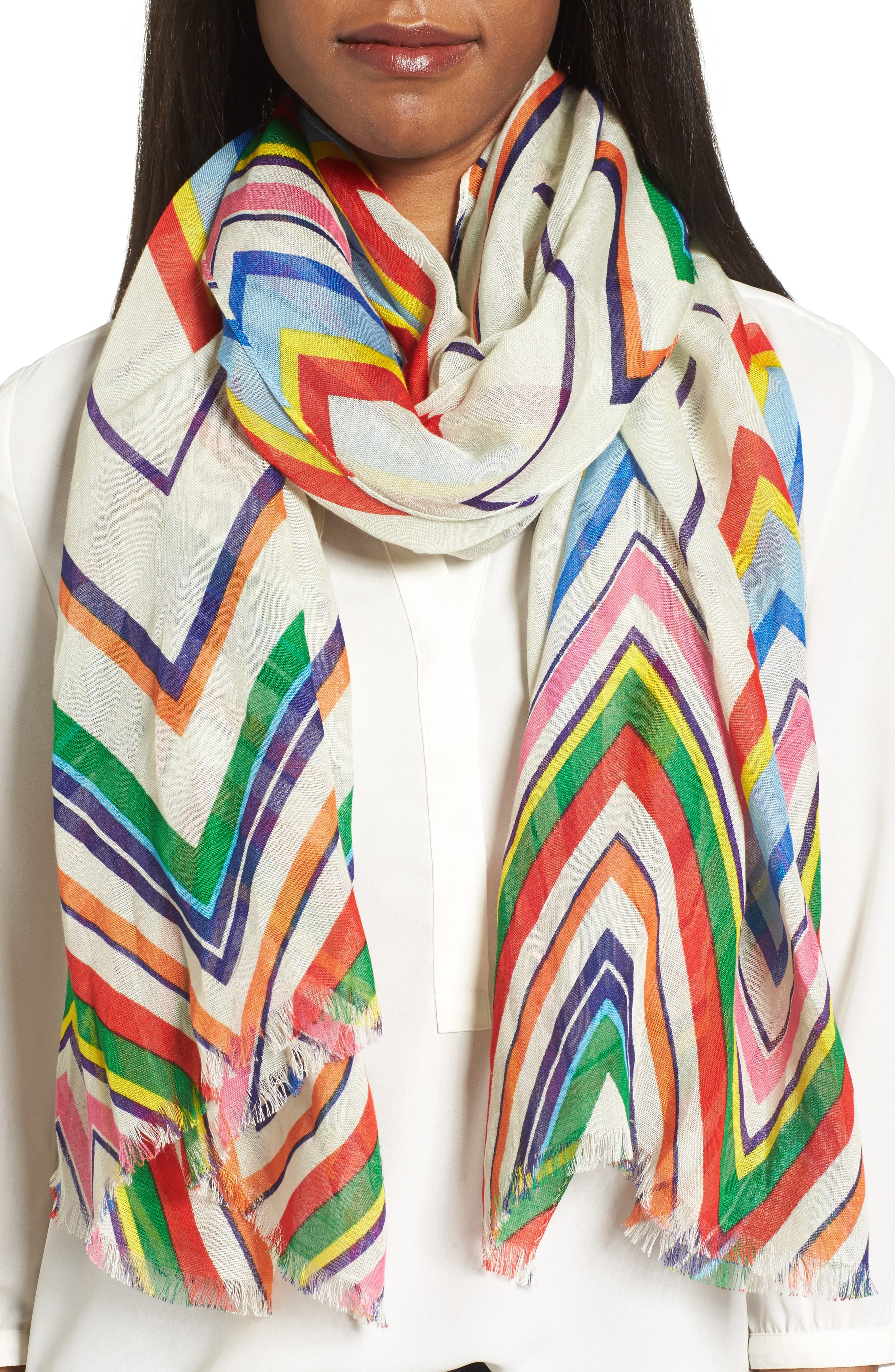 Tory Burch Stripe Scarf