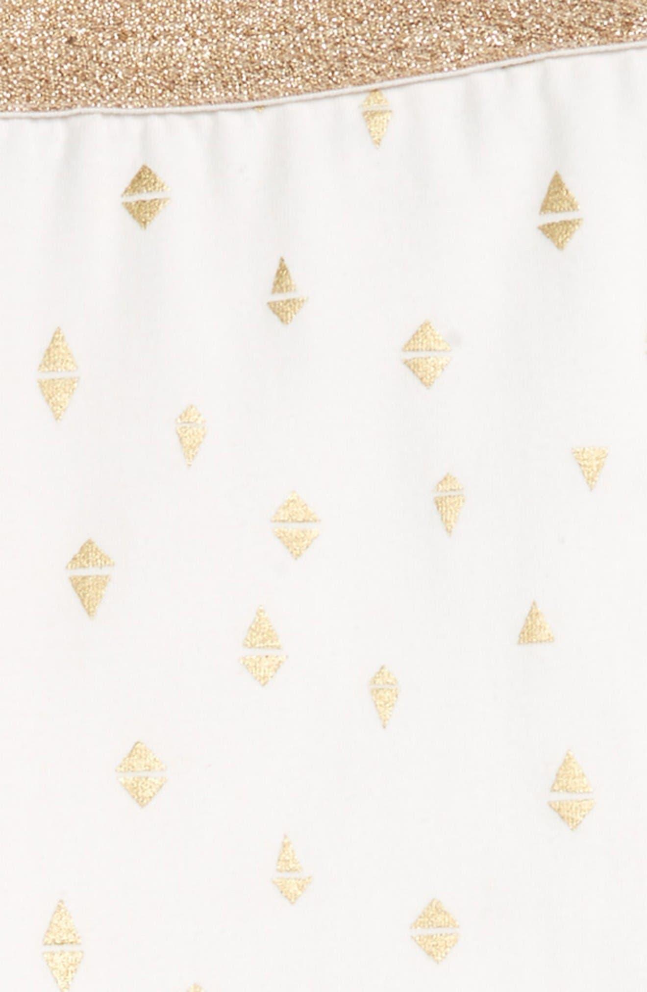 Alternate Image 2  - Kardashian Kids Foil Print Leggings (Toddler Girls & Little Girls)