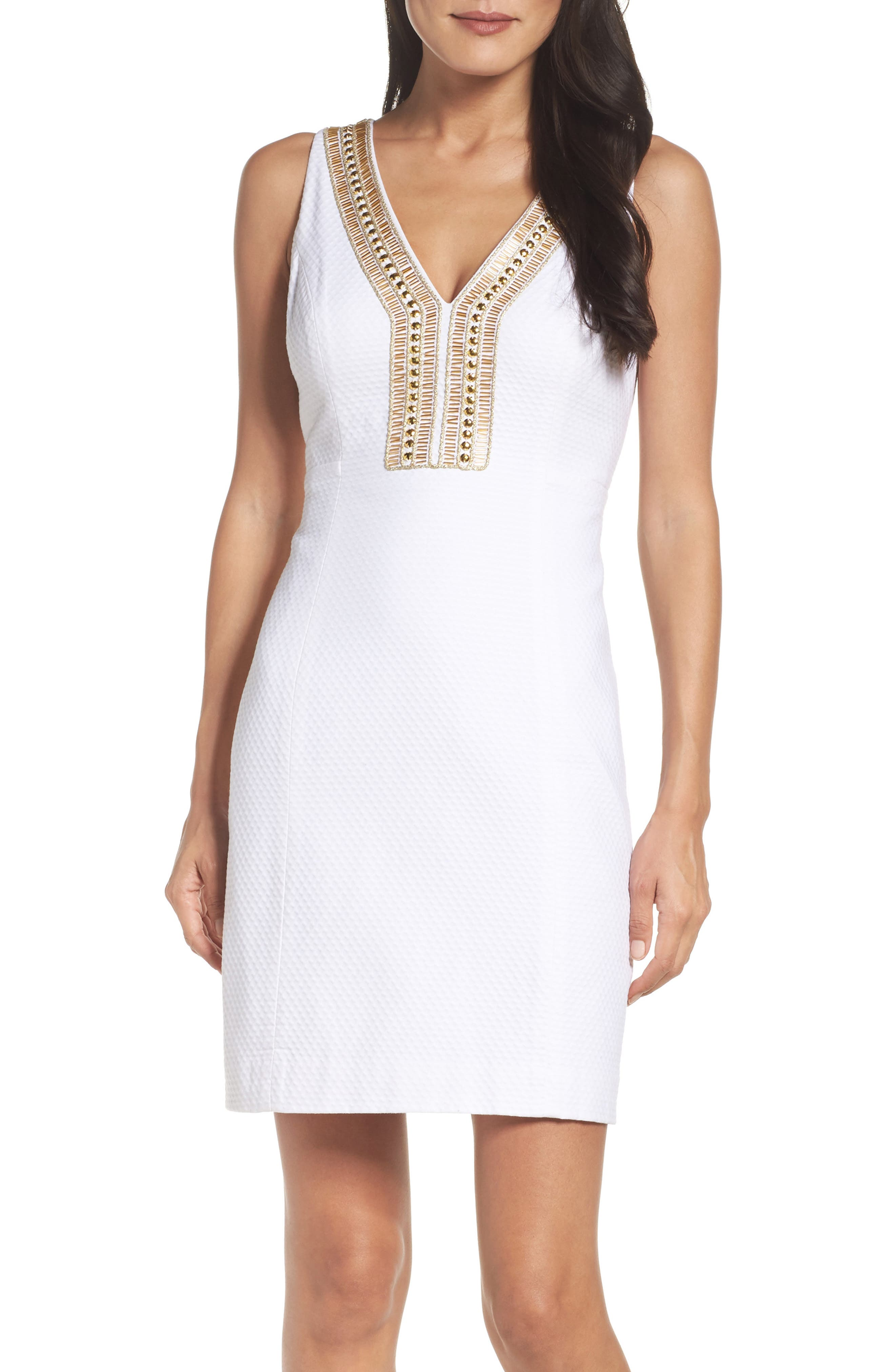 Lilly Pulitzer® Eliot Embellished Shift Dress