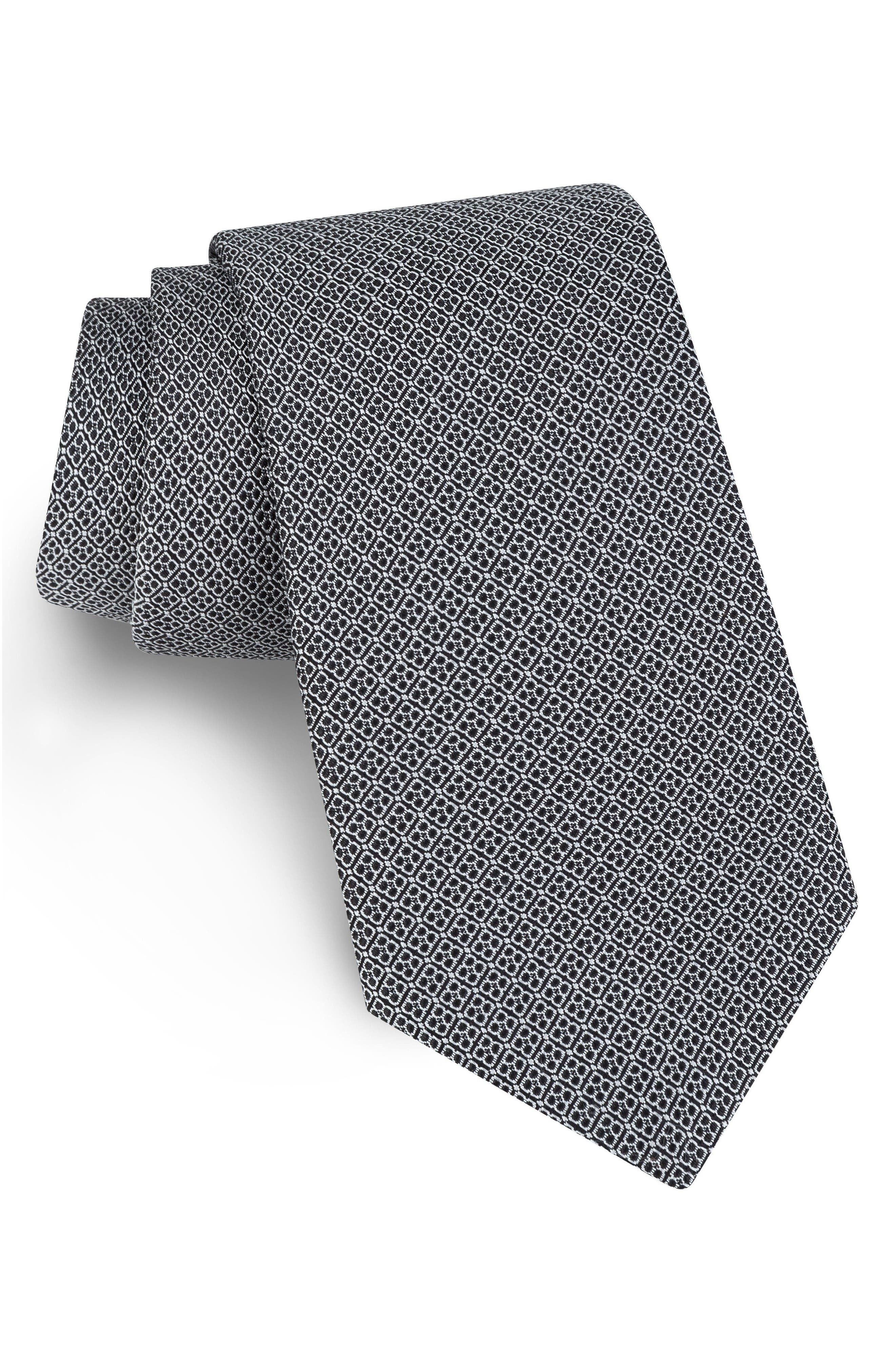 Ted Baker London Sulton Geometric Silk Tie