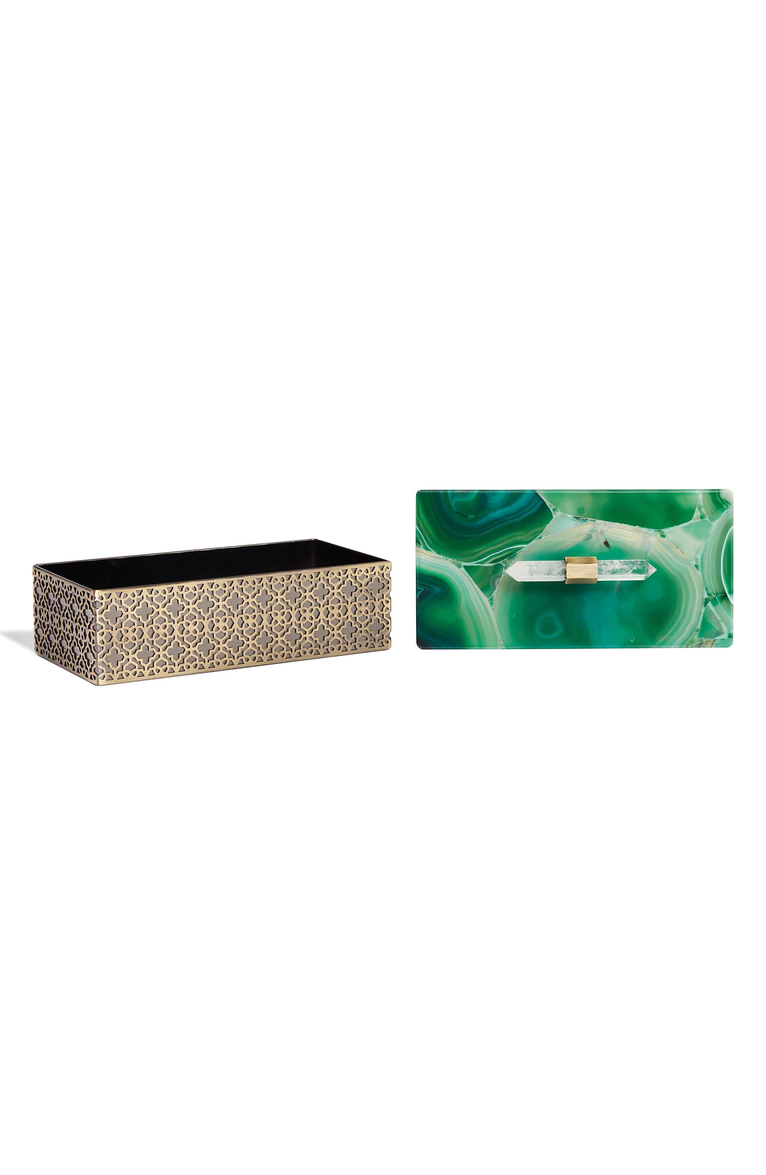 Kendra Scott Rectangle Filigree Box