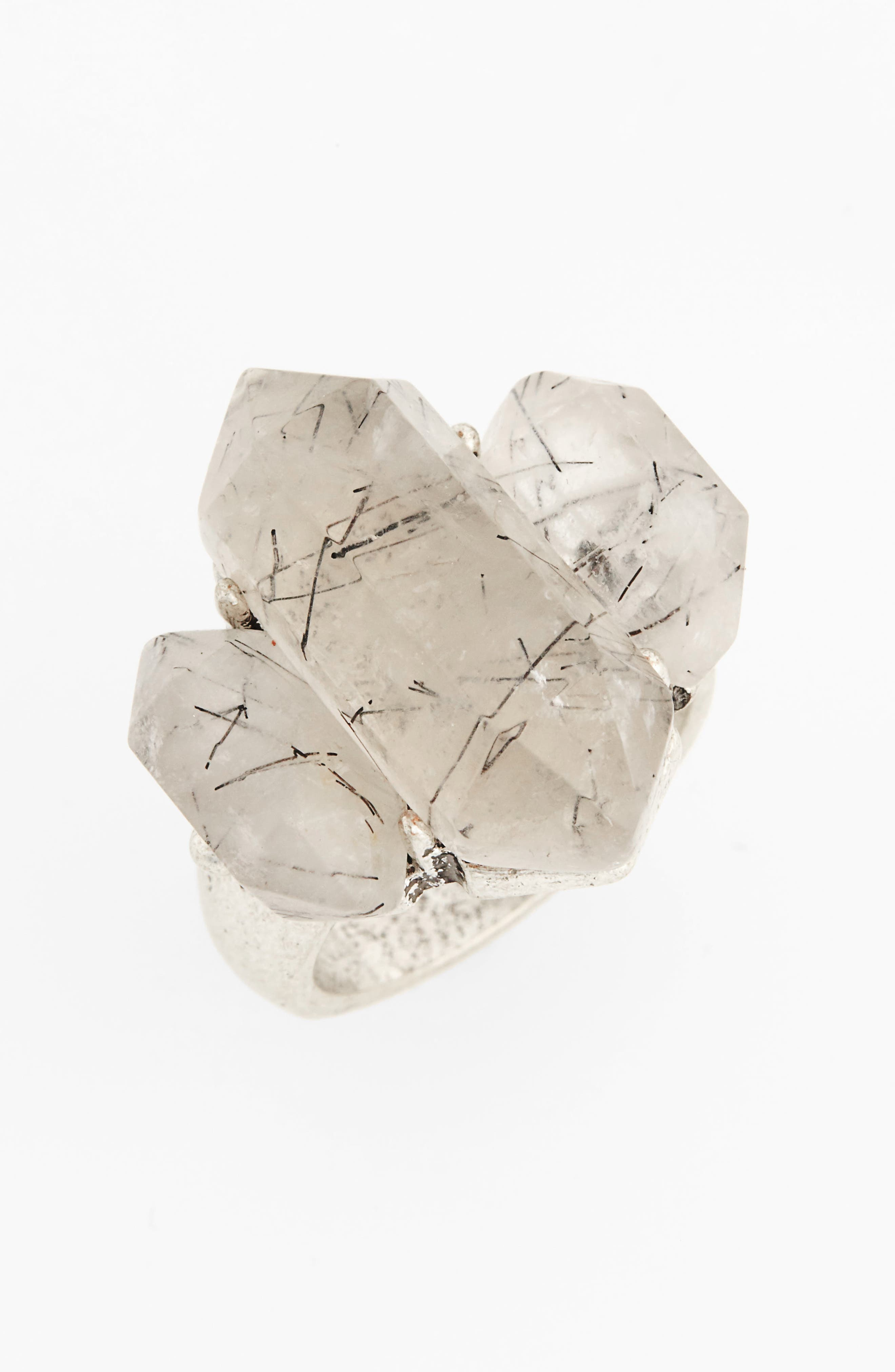 Alternate Image 1 Selected - Treasure & Bond Triple Stone Cocktail Ring