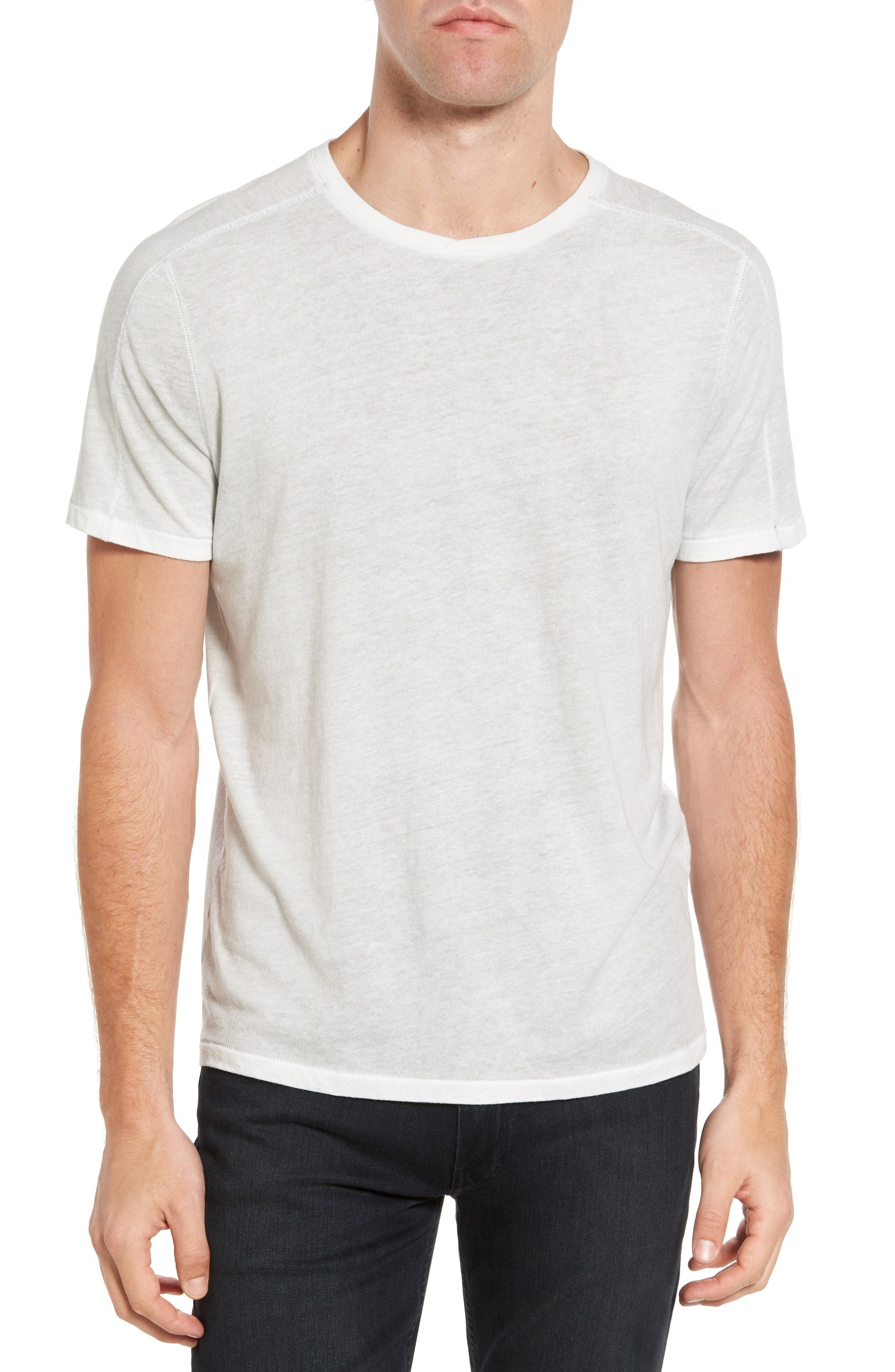 John Varvatos Star USA Reverse Sprayed T-Shirt