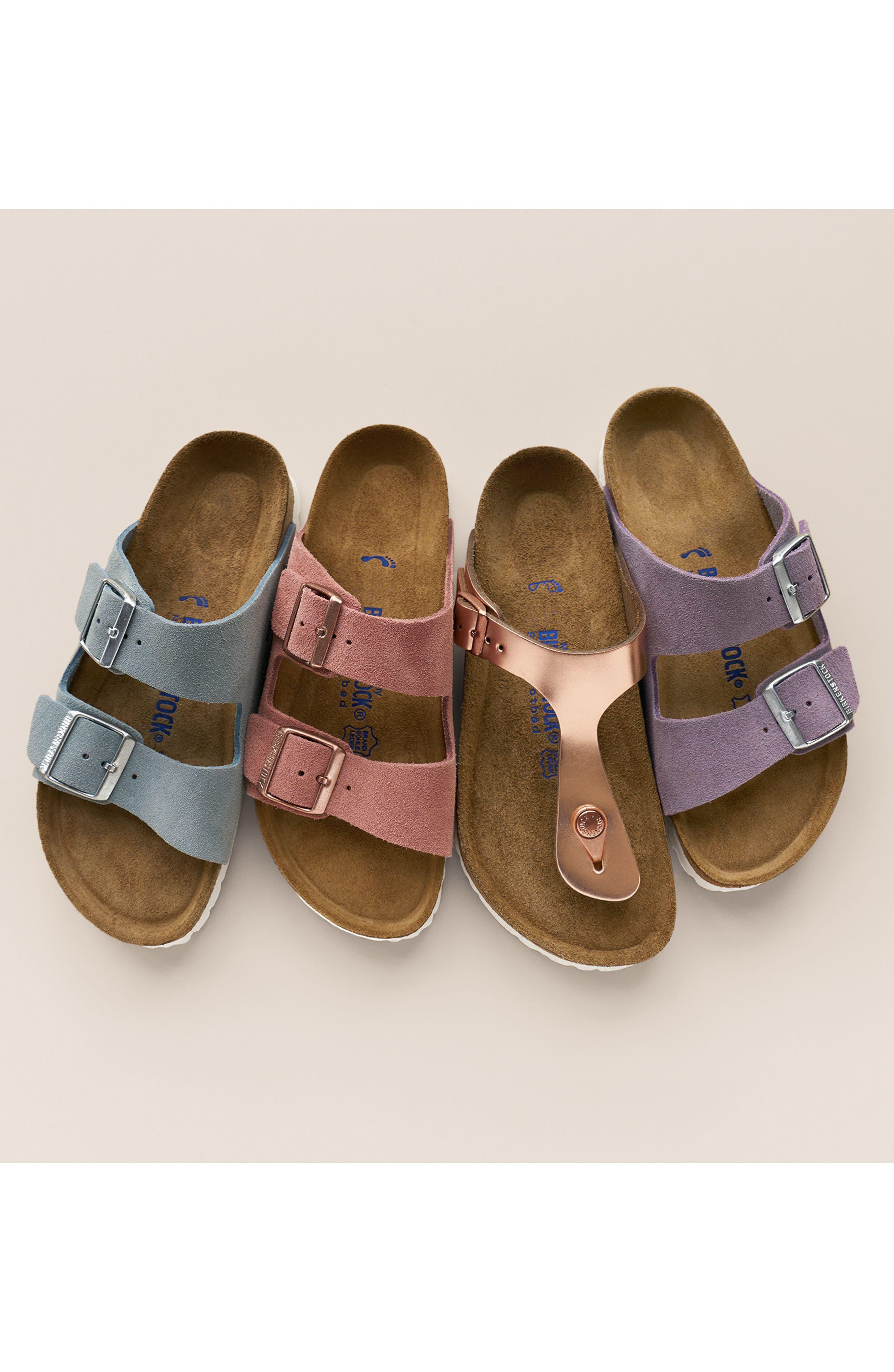 Alternate Image 5  - Birkenstock Arizona Birko-Flor Soft Footbed Slide Sandal (Women)