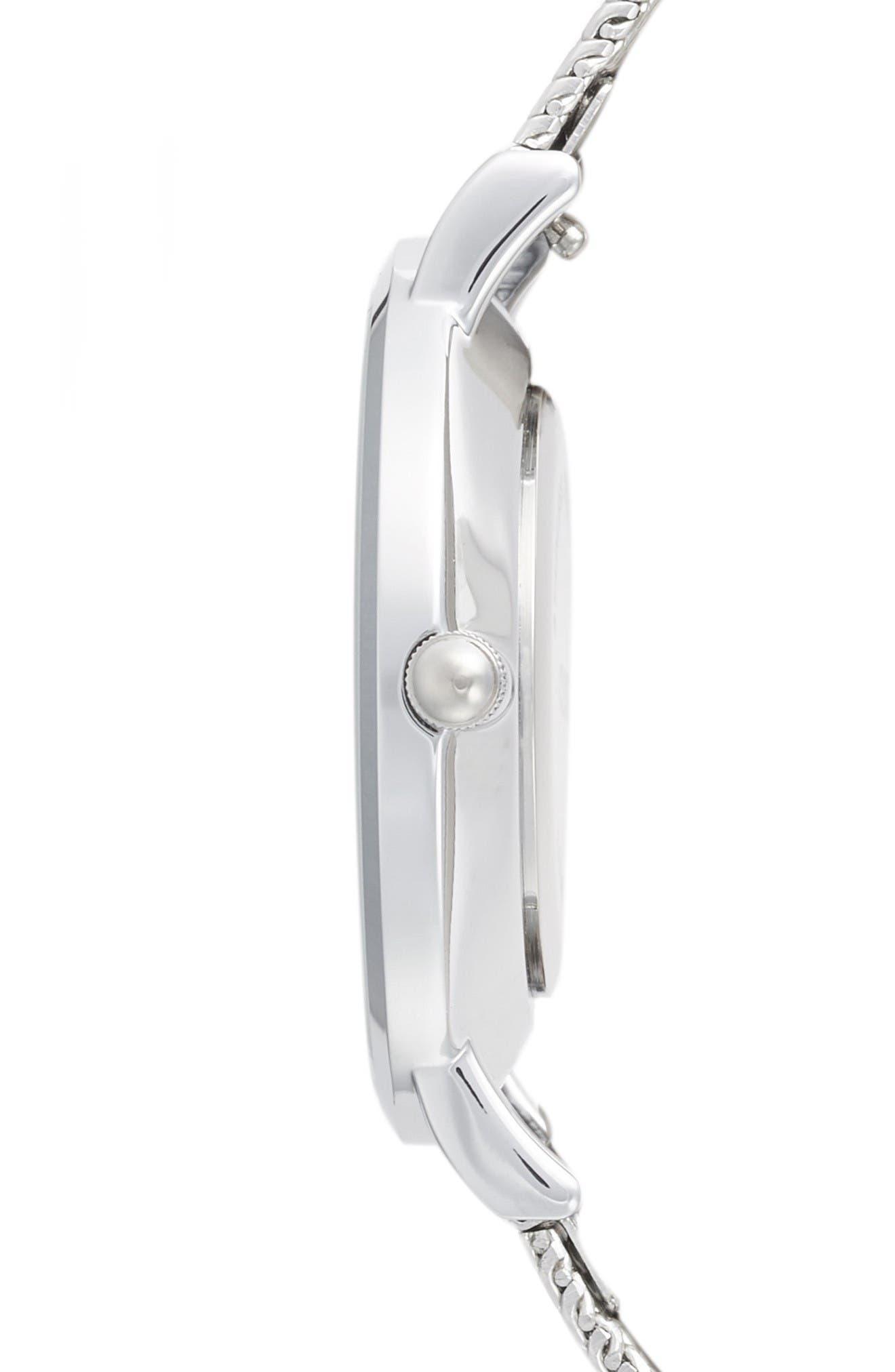 Alternate Image 3  - CLUSE Minuit Mesh Strap Watch, 33mm