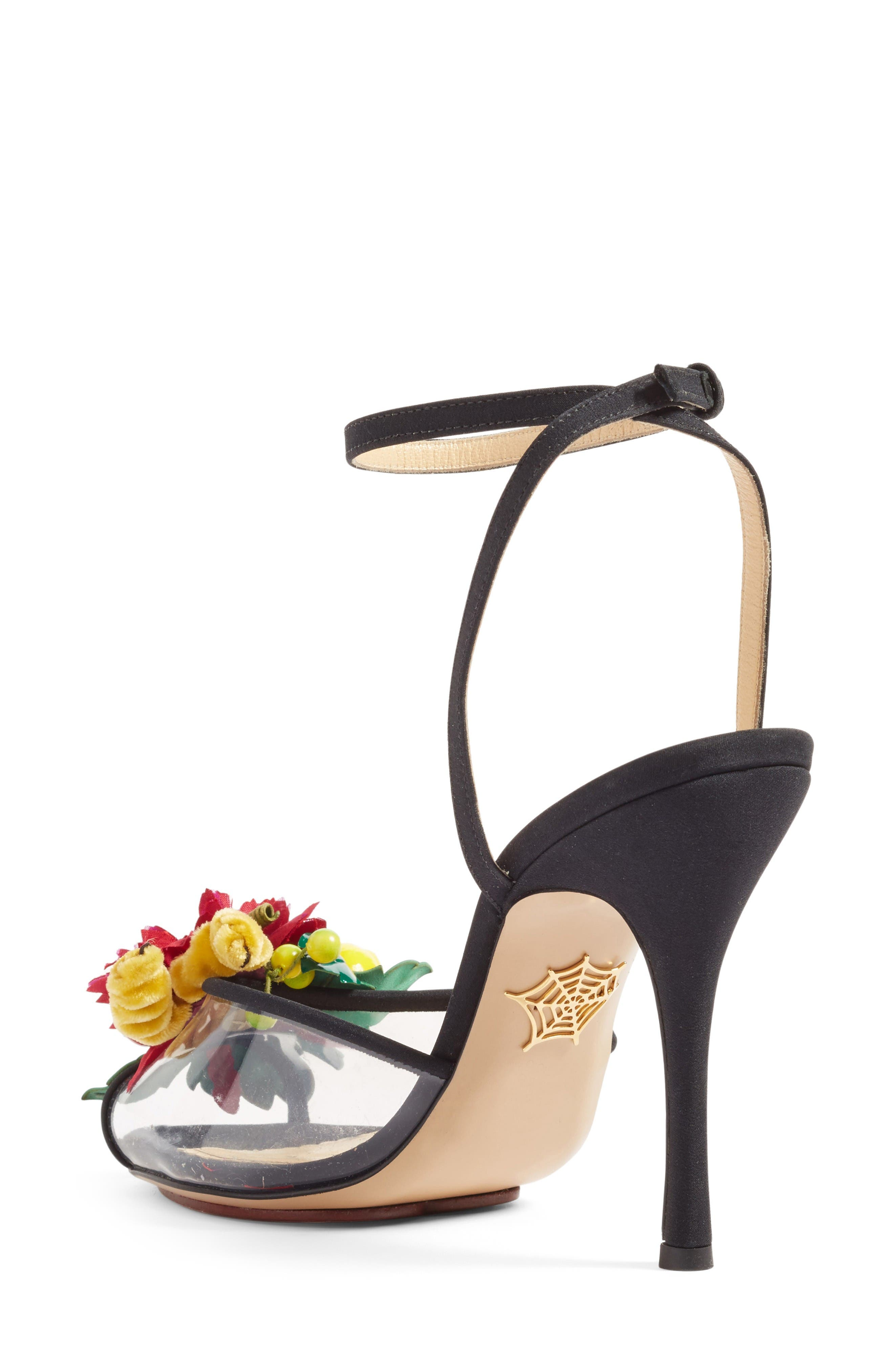 Alternate Image 2  - Charlotte Olympia Tropicana Ankle Strap Sandal (Women)