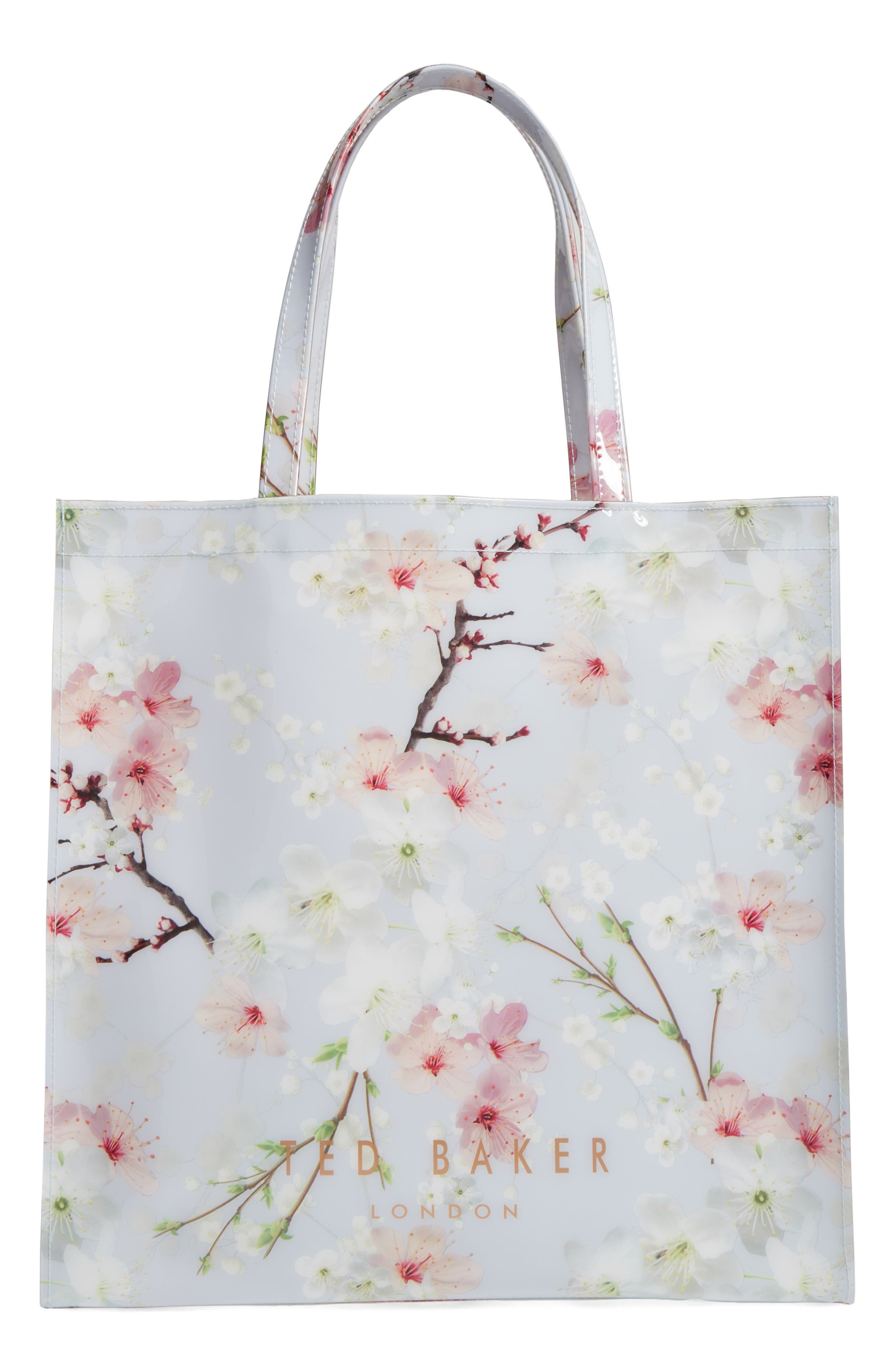 Main Image - Ted Baker London Cherry Blossom Large Icon Tote