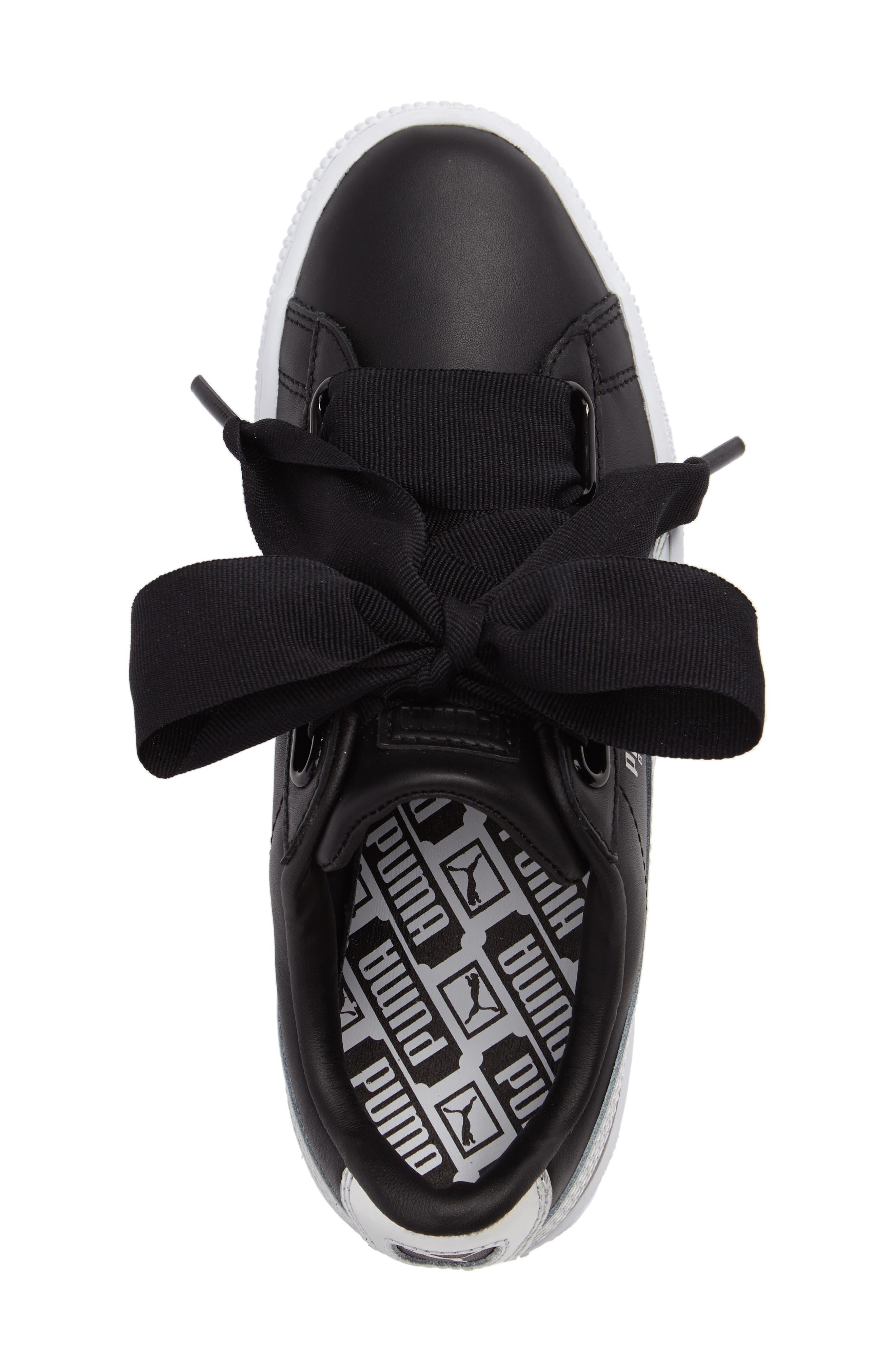 Alternate Image 4  - PUMA Basket Heart Sneaker