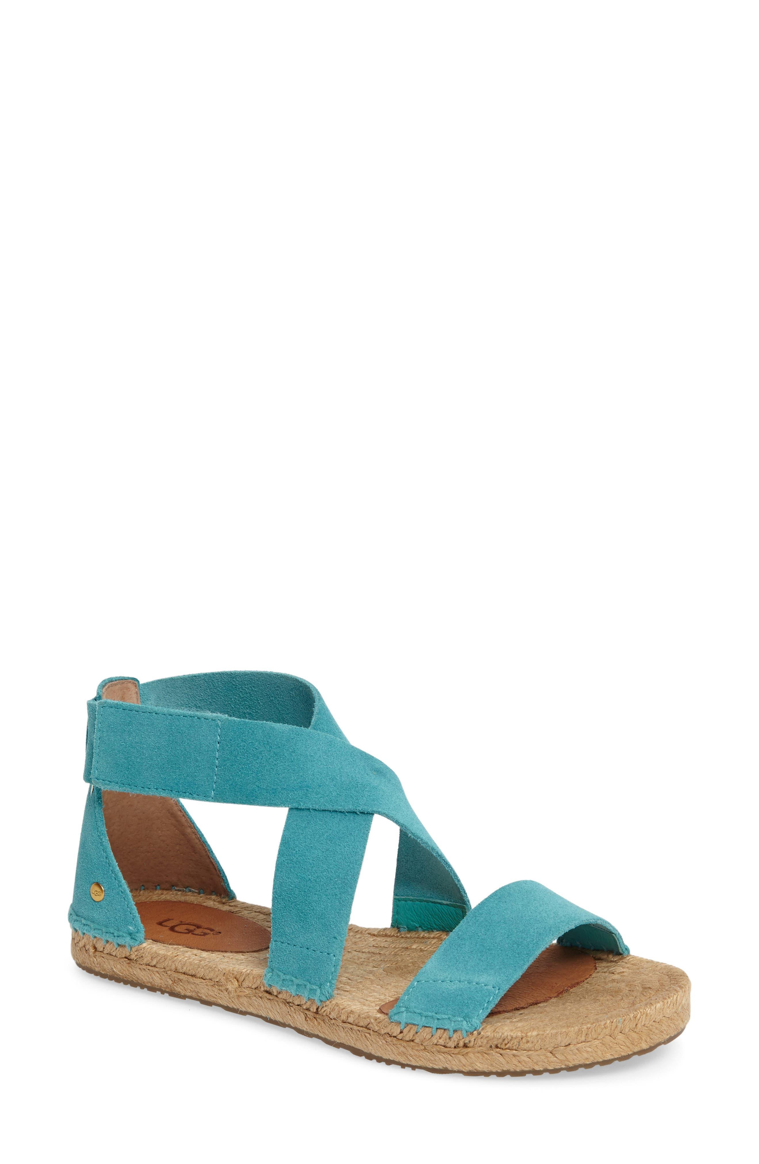 UGG® Mila Espadrille Flat Sandal (Women)