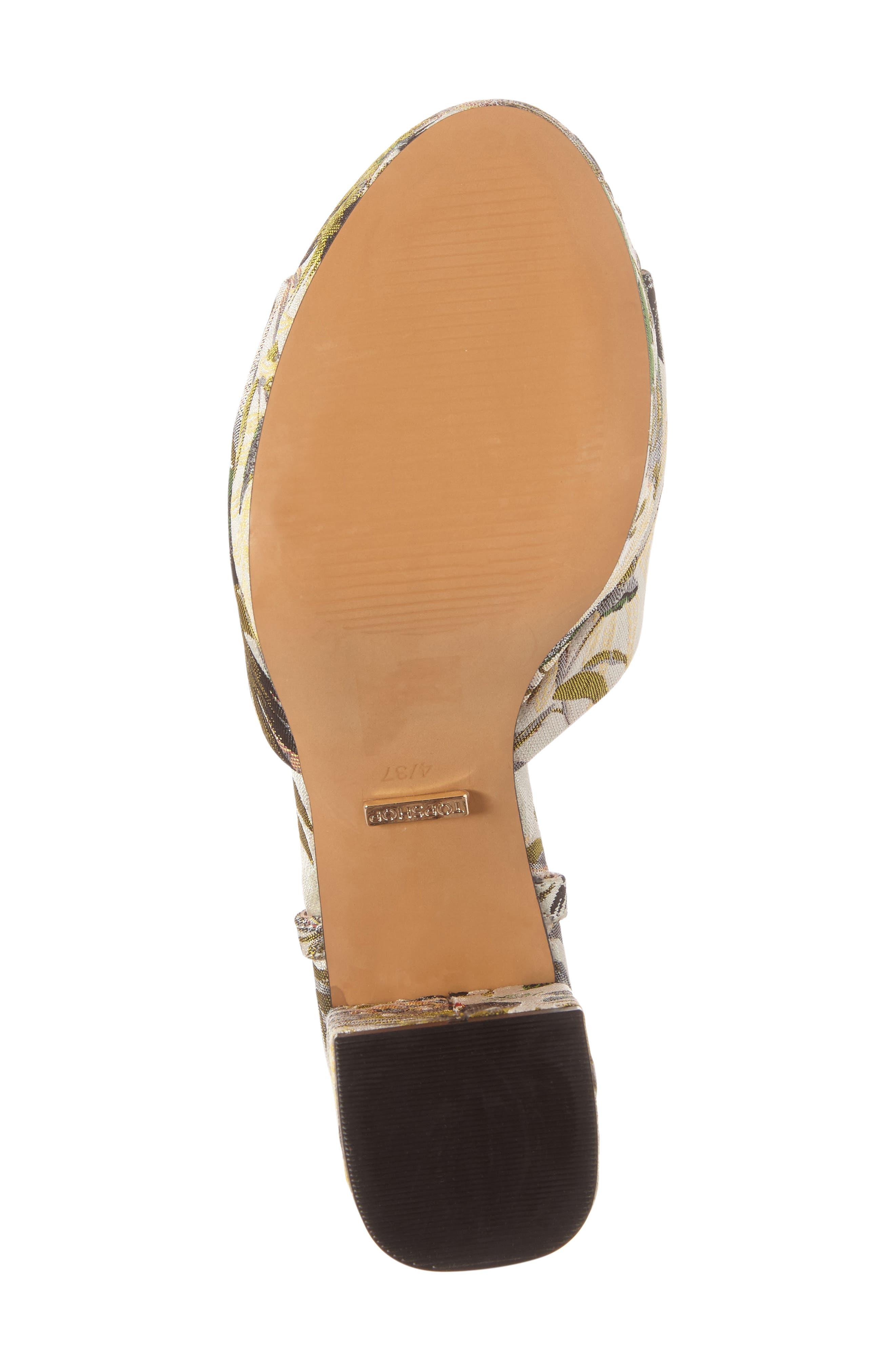 Alternate Image 4  - Topshop Lava Platform Sandal (Women)
