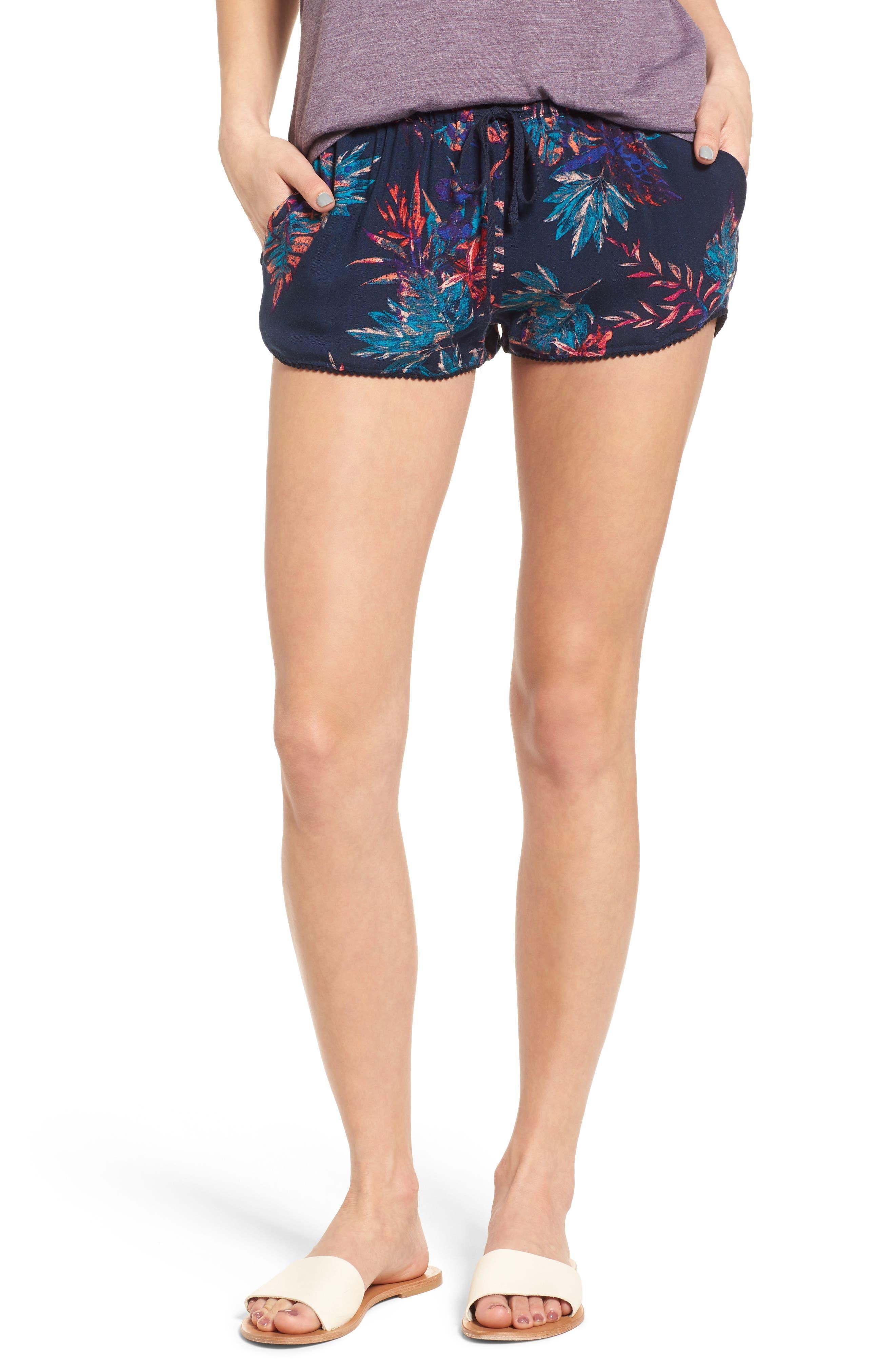 Roxy Mystic Topaz Print Shorts